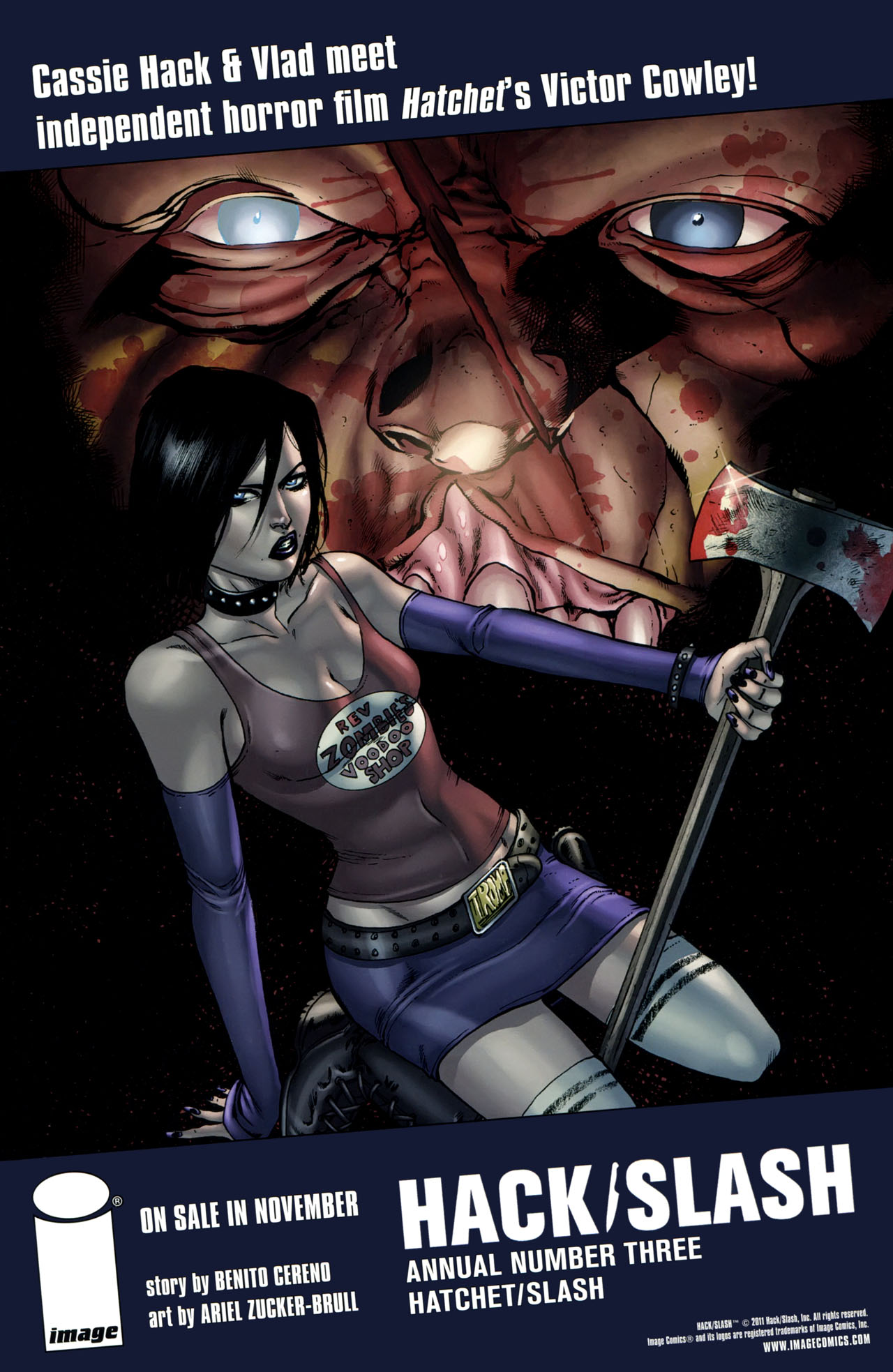 Read online Severed comic -  Issue #4 - 27