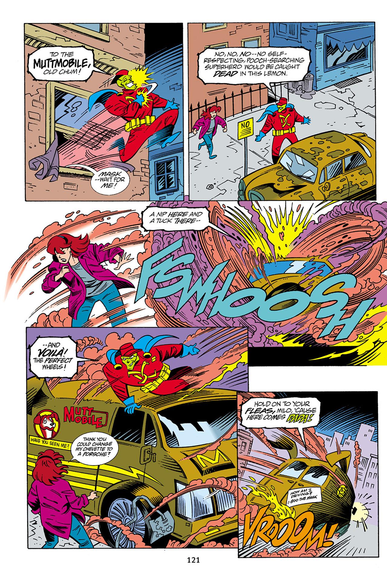 Read online Adventures Of The Mask Omnibus comic -  Issue #Adventures Of The Mask Omnibus Full - 121