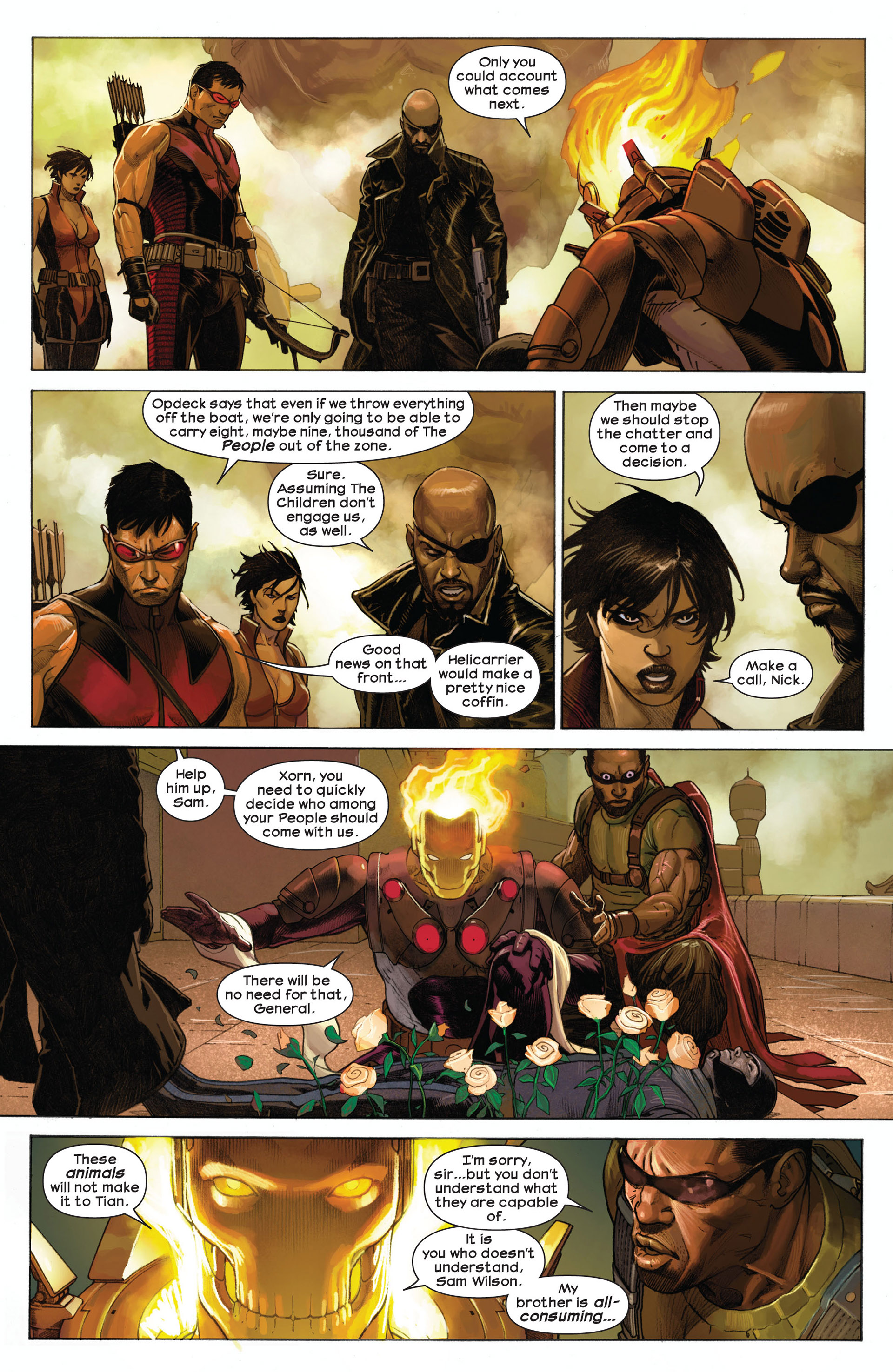 Read online Ultimate Comics Ultimates comic -  Issue #8 - 8