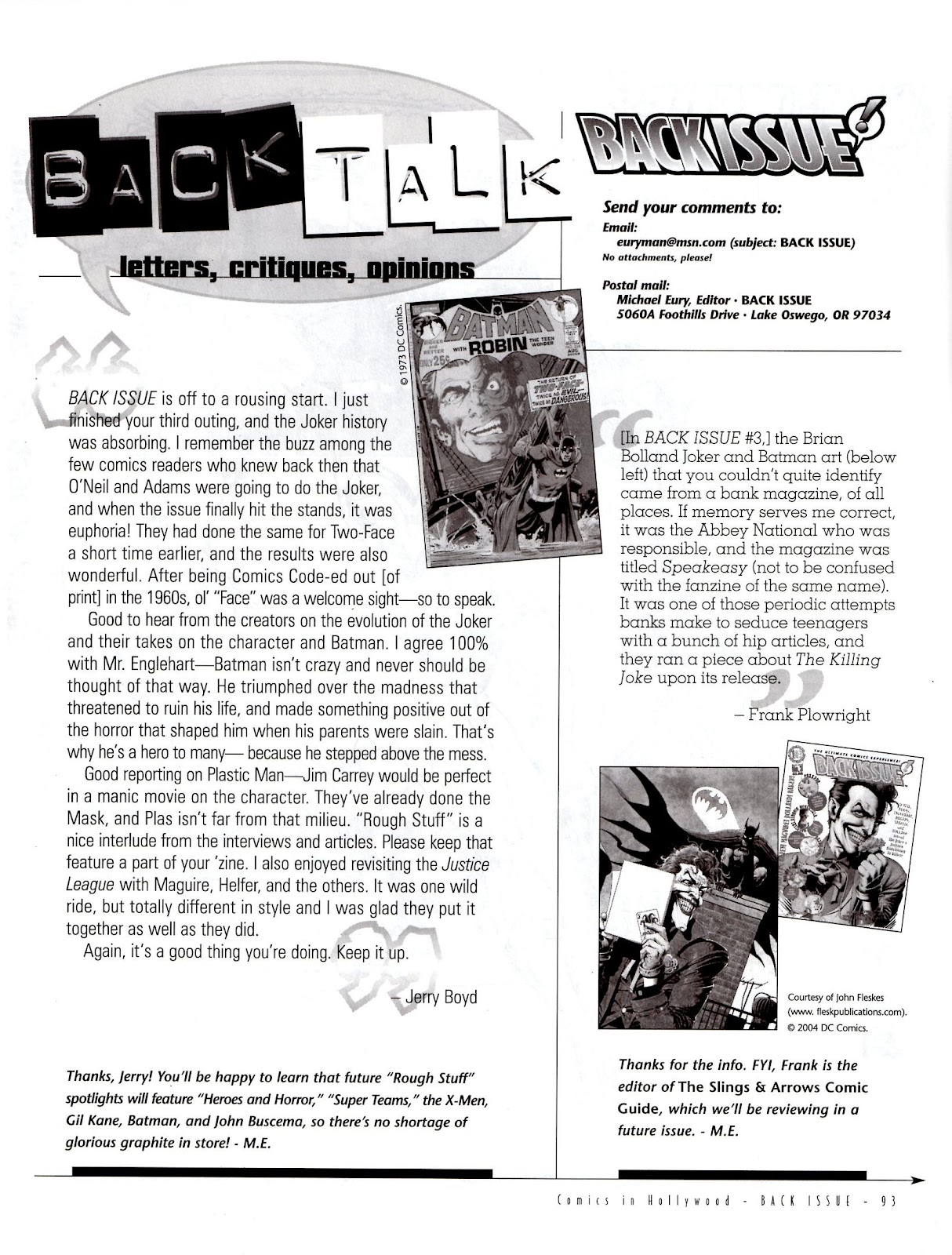 Back Issue issue 5 - Page 95