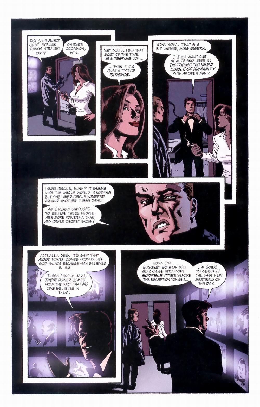 Read online Sleeper comic -  Issue #4 - 6
