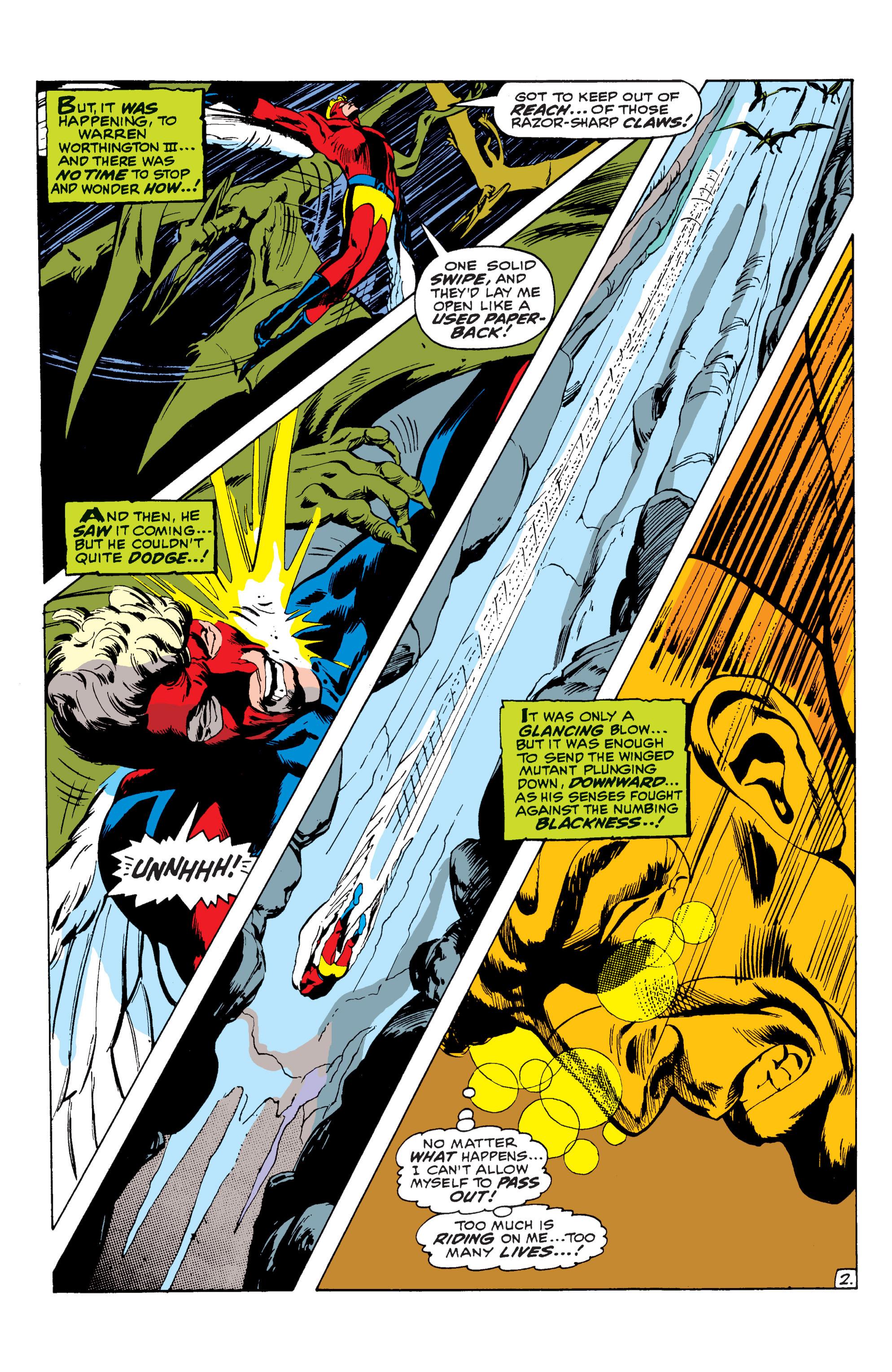 Uncanny X-Men (1963) 62 Page 2