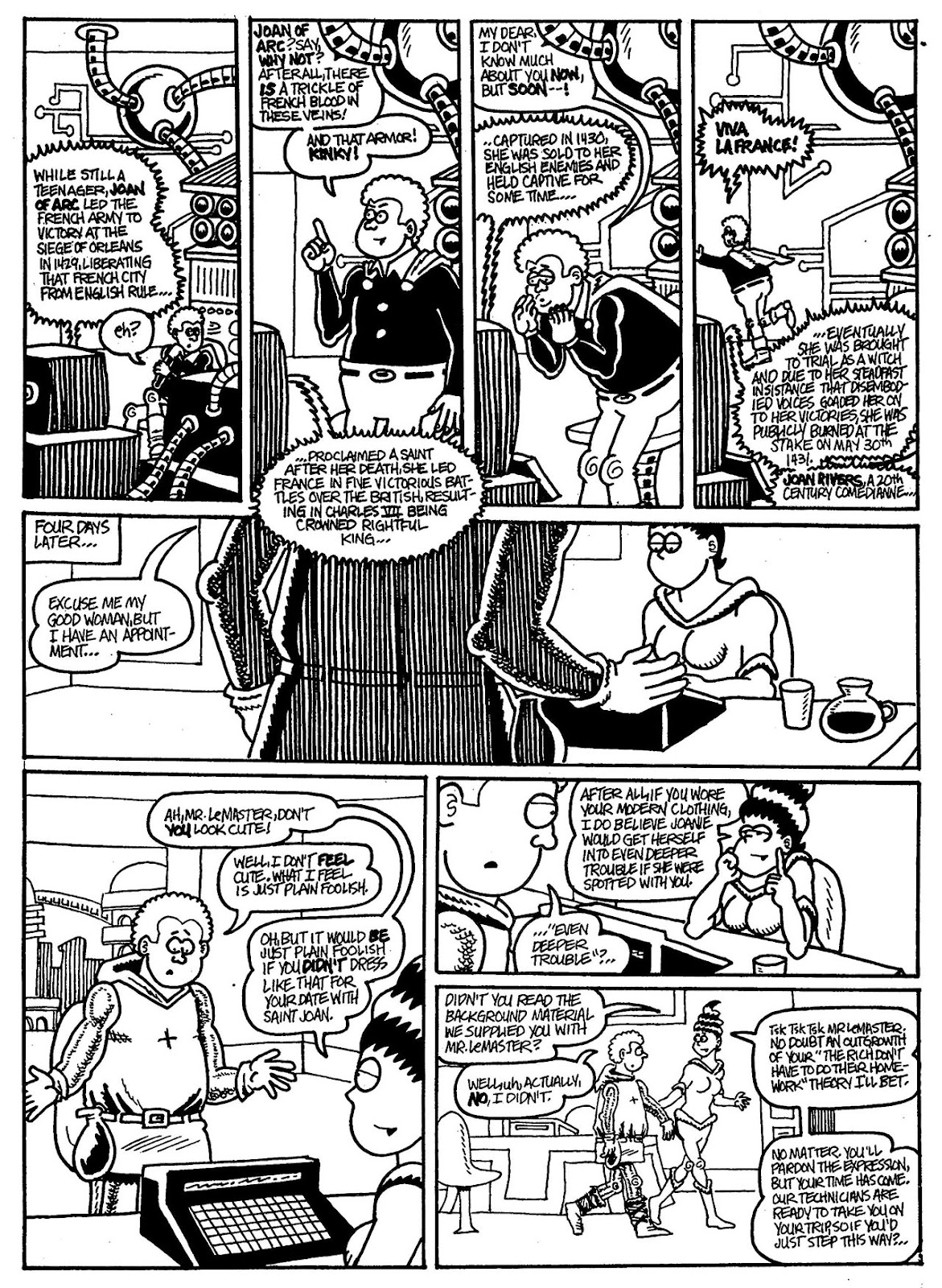 Read online The Nearly Complete Essential Hembeck Archives Omnibus comic -  Issue # TPB (Part 6) - 40