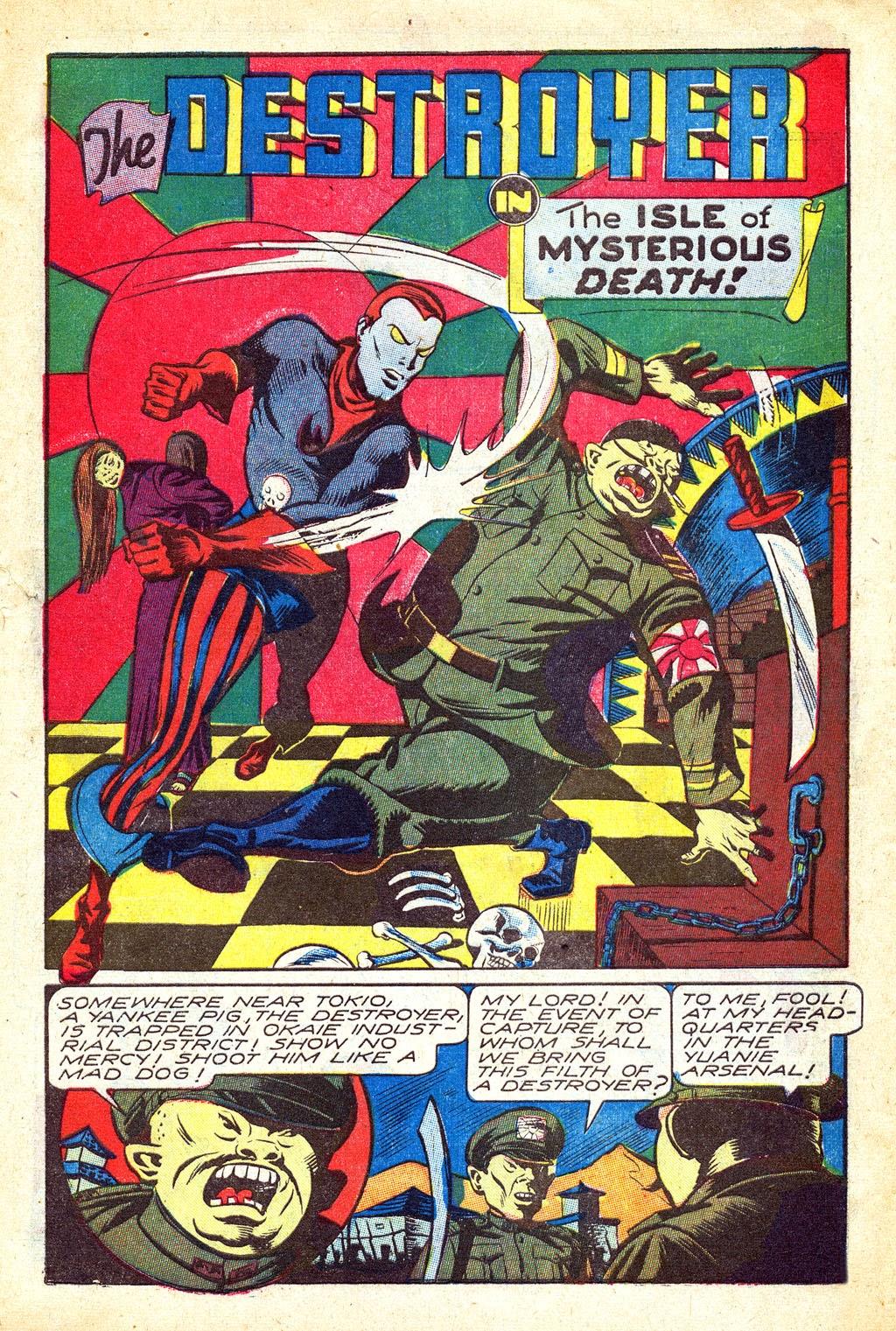 Read online Mystic Comics (1944) comic -  Issue #3 - 27