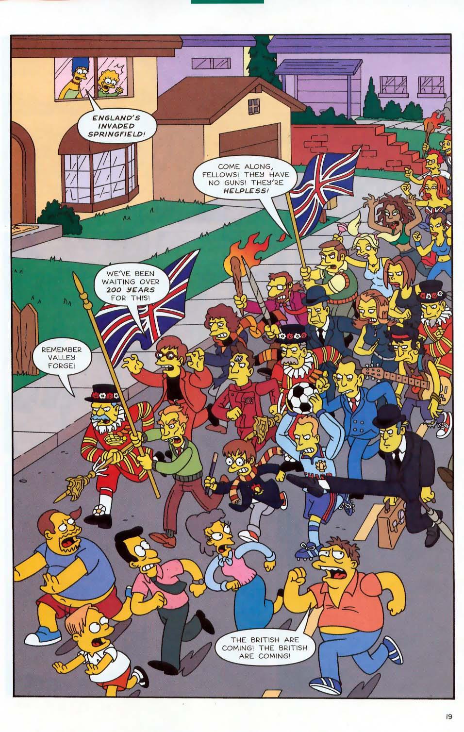 Read online Simpsons Comics comic -  Issue #87 - 20