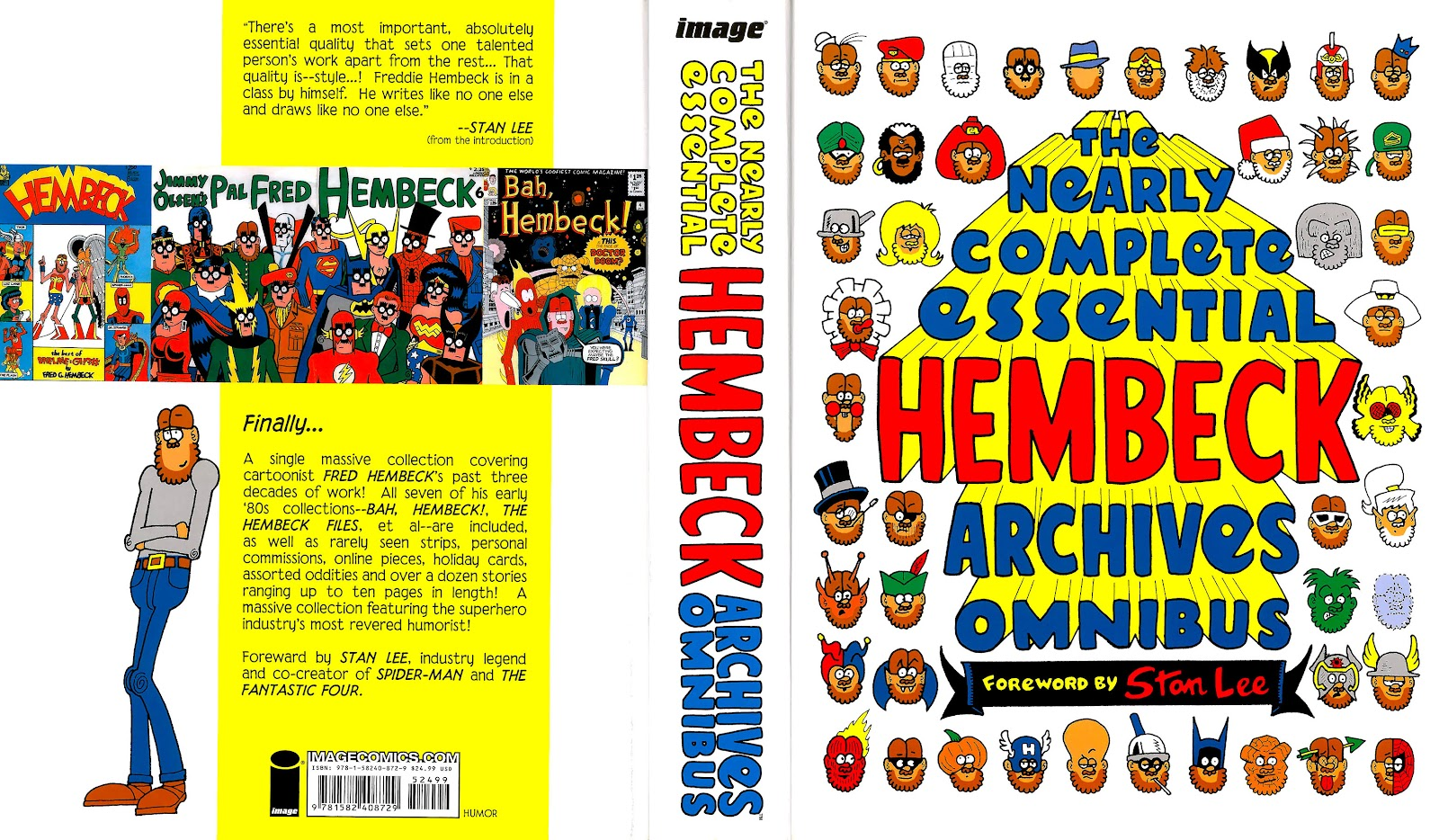 Read online The Nearly Complete Essential Hembeck Archives Omnibus comic -  Issue # TPB (Part 1) - 2