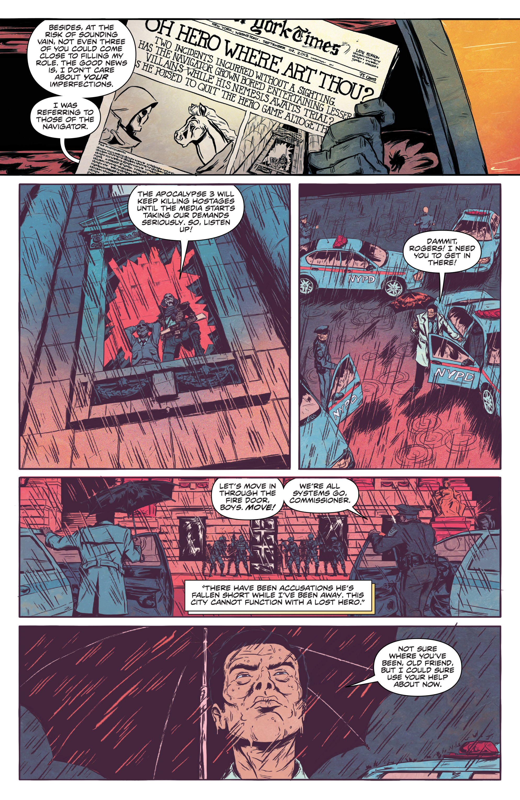 Read online Translucid comic -  Issue #1 - 8