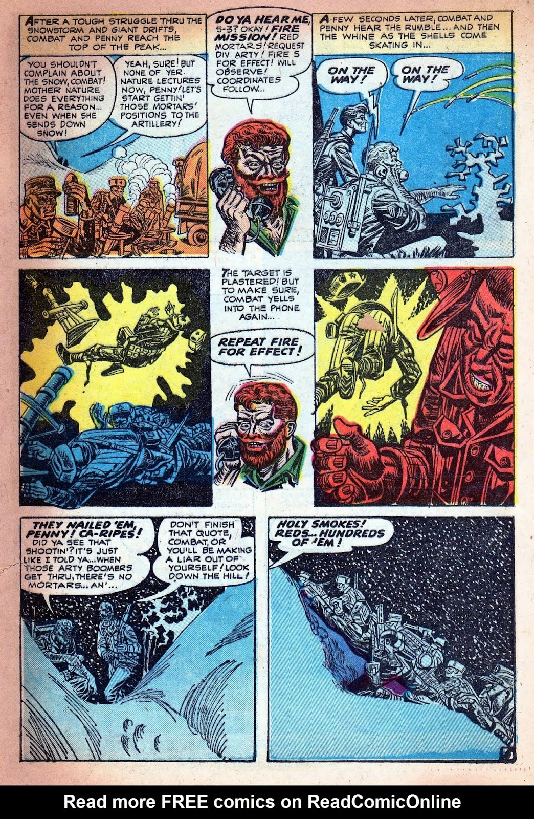 Combat (1952) issue 7 - Page 25