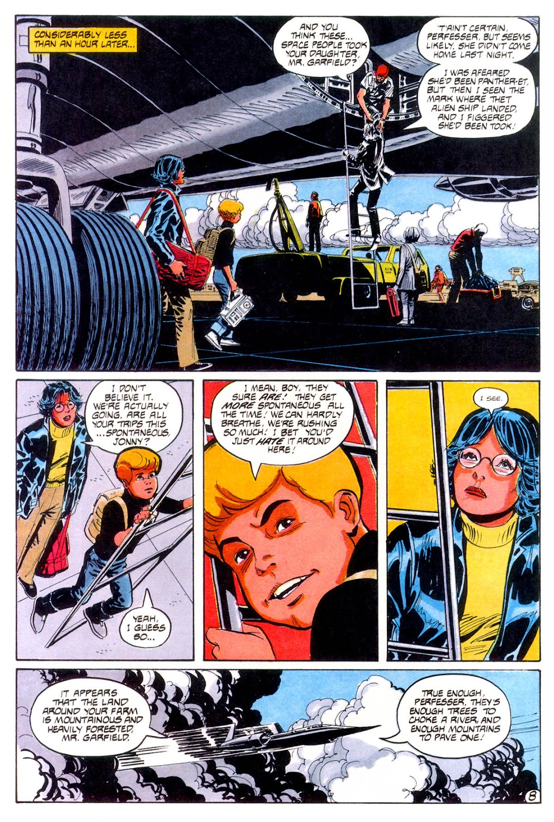 Jonny Quest (1986) issue 12 - Page 11