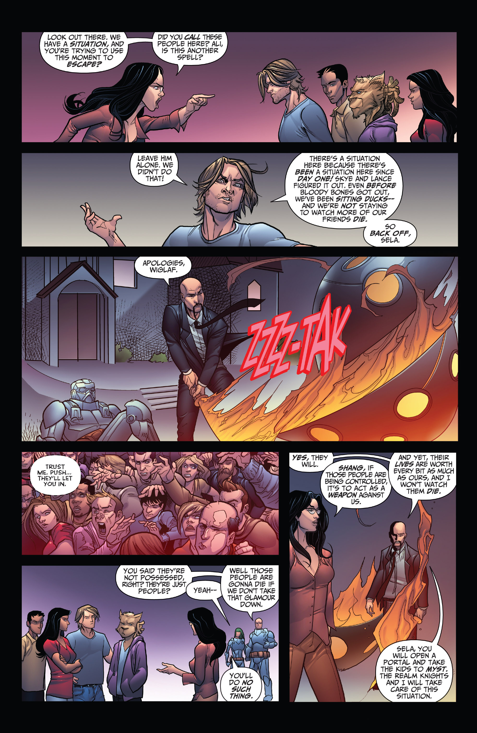 Read online Grimm Fairy Tales: Arcane Acre comic -  Issue # TPB 4 - 87