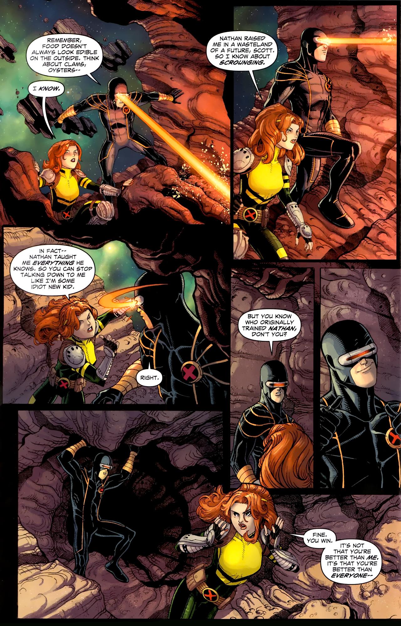 Read online Uncanny X-Men (1963) comic -  Issue # _Annual 3 (2011) - 18