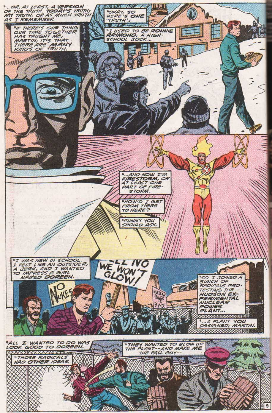 Firestorm, the Nuclear Man Issue #100 #36 - English 10