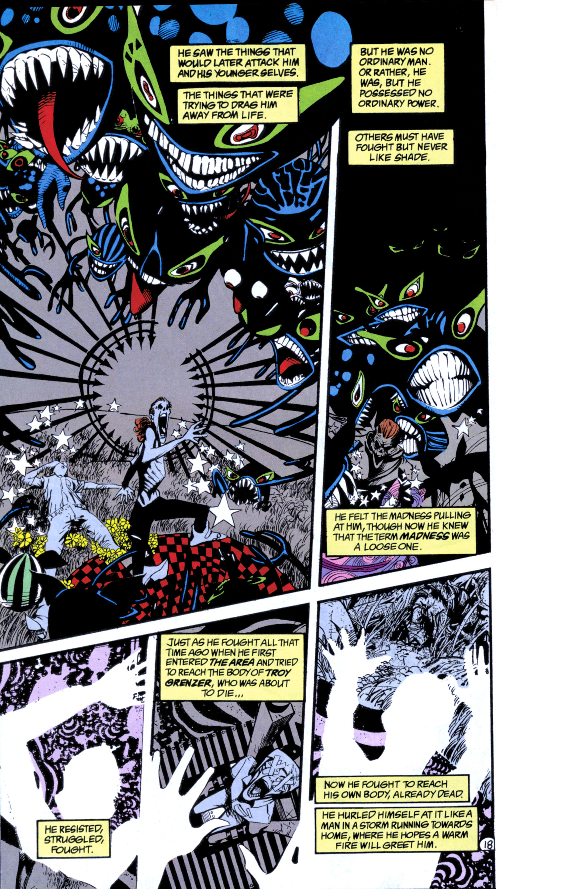 Read online Shade, the Changing Man comic -  Issue #25 - 19