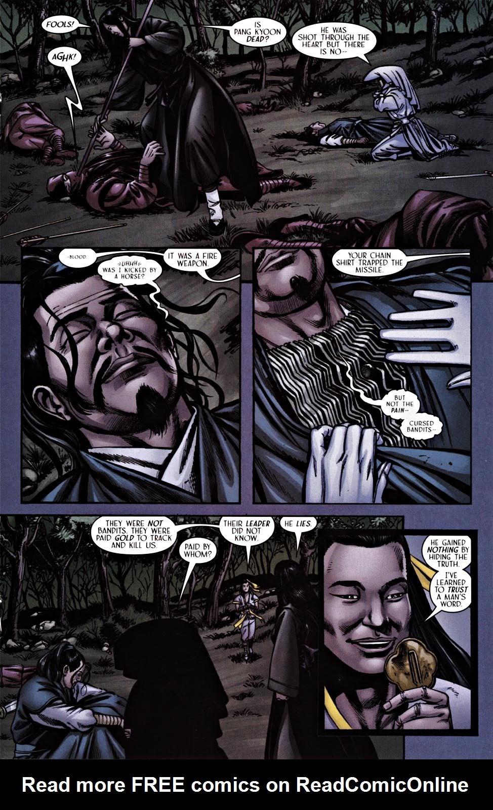 Read online Silken Ghost comic -  Issue #2 - 17