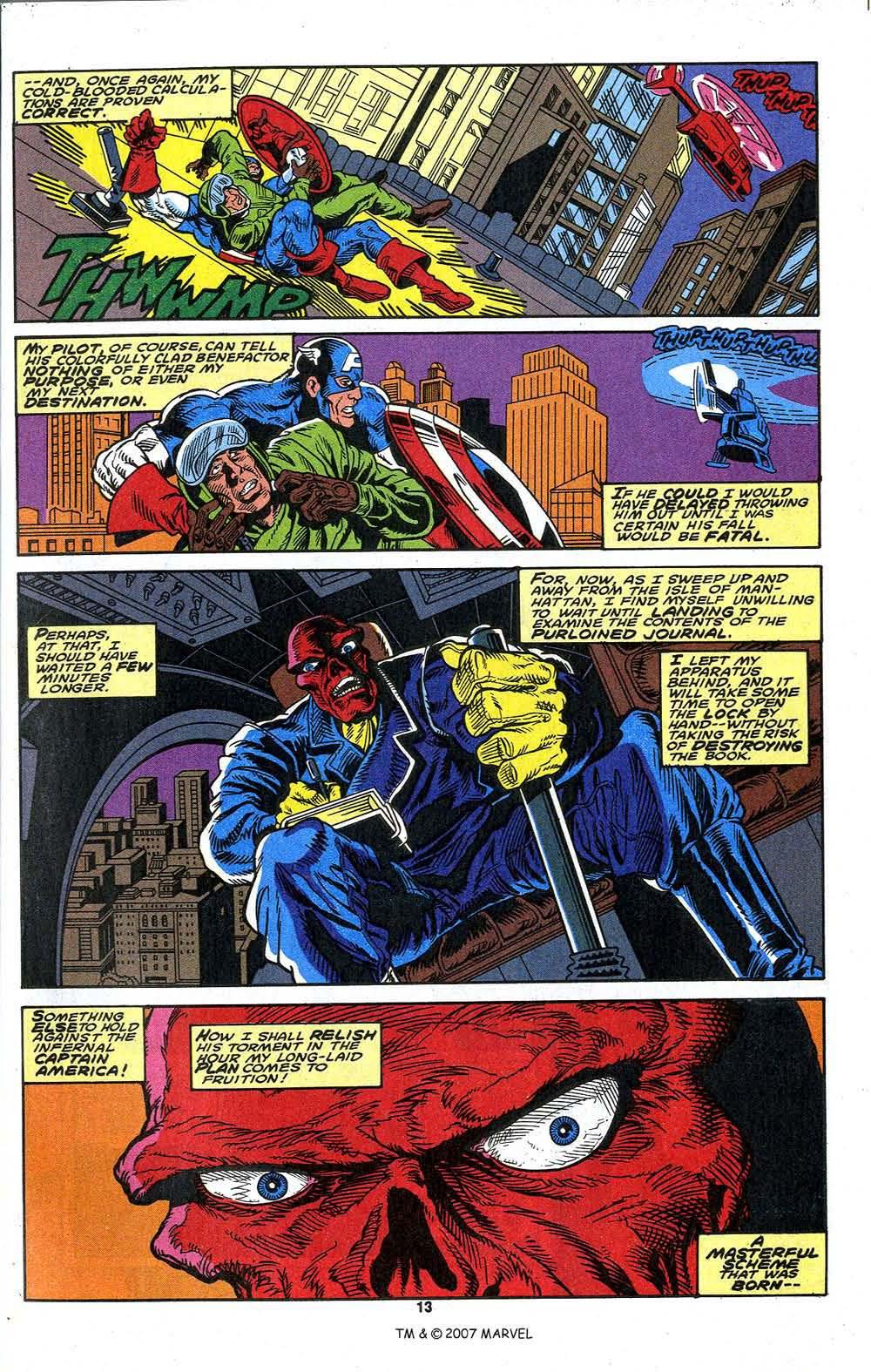 Read online Captain America (1968) comic -  Issue # _Annual 13 - 15