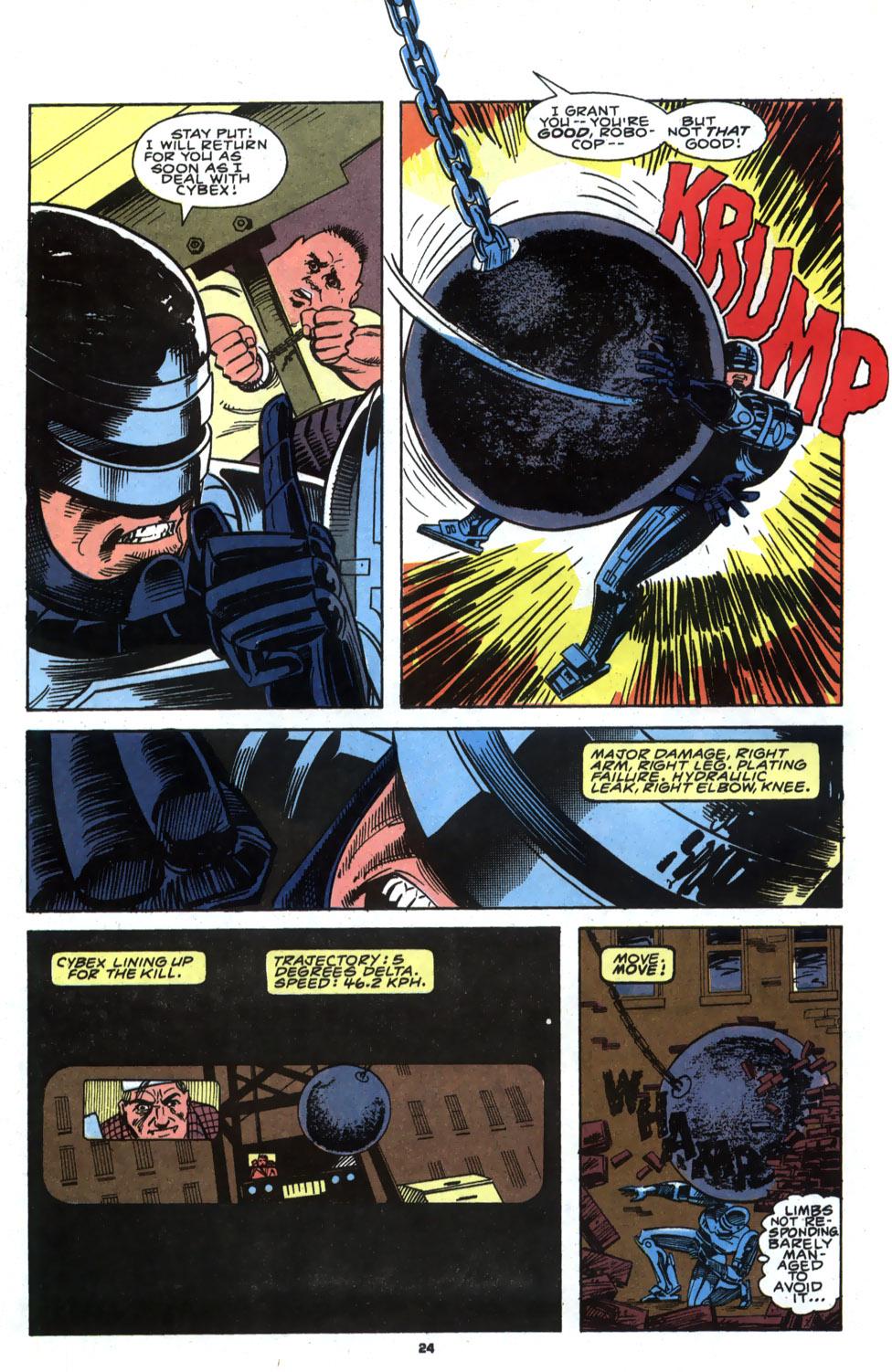 Read online Robocop (1990) comic -  Issue #4 - 19