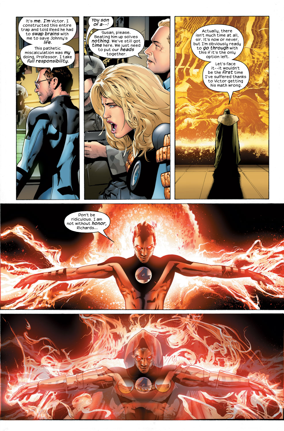 Read online Ultimate Fantastic Four (2004) comic -  Issue #32 - 19