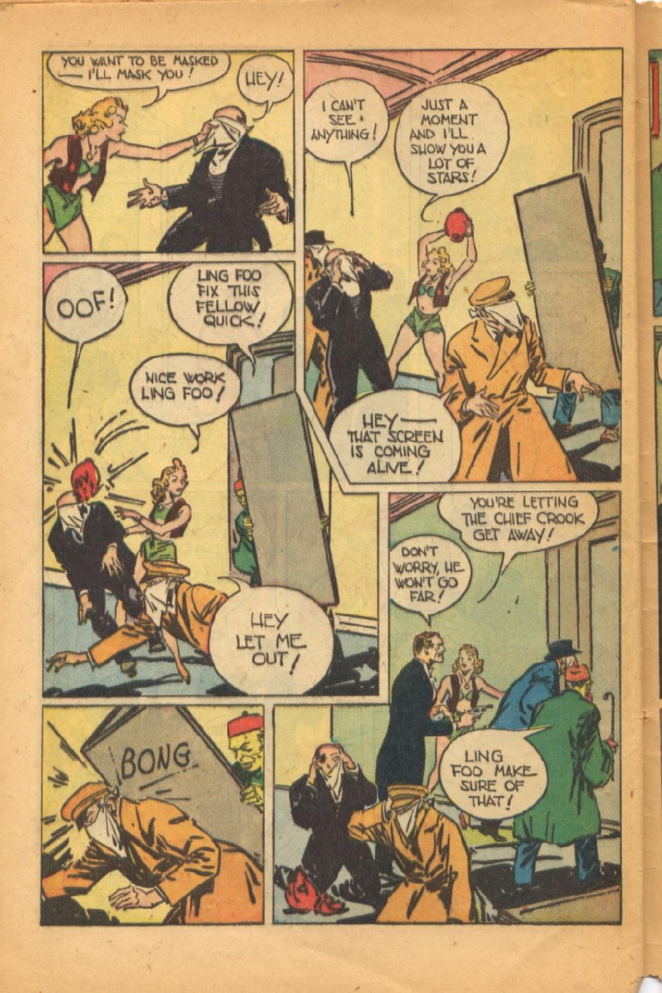 Read online Super-Magician Comics comic -  Issue #52 - 45
