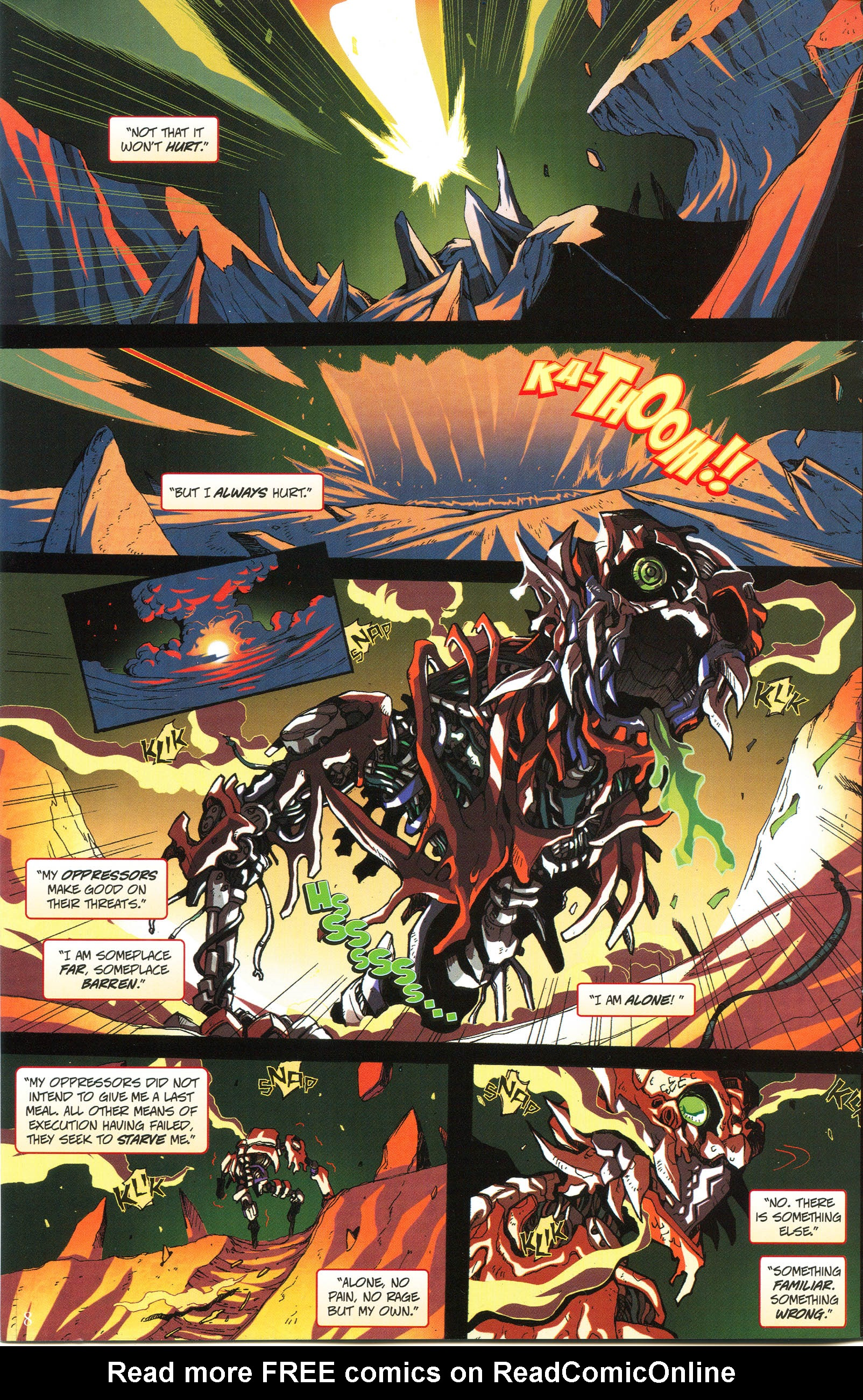 Read online Transformers: Collectors' Club comic -  Issue #56 - 8