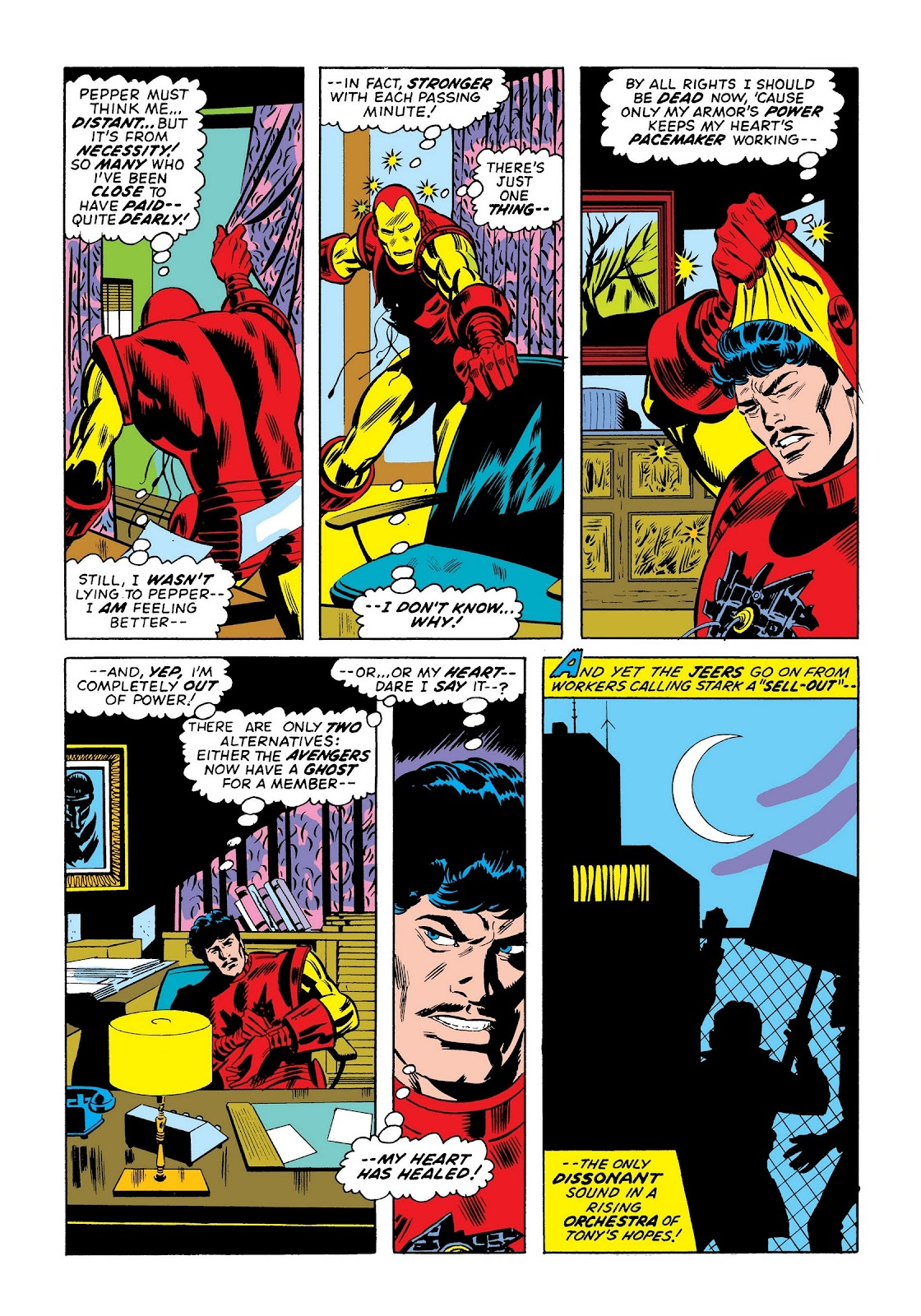 Read online Marvel Masterworks: The Invincible Iron Man comic -  Issue # TPB 9 (Part 1) - 100