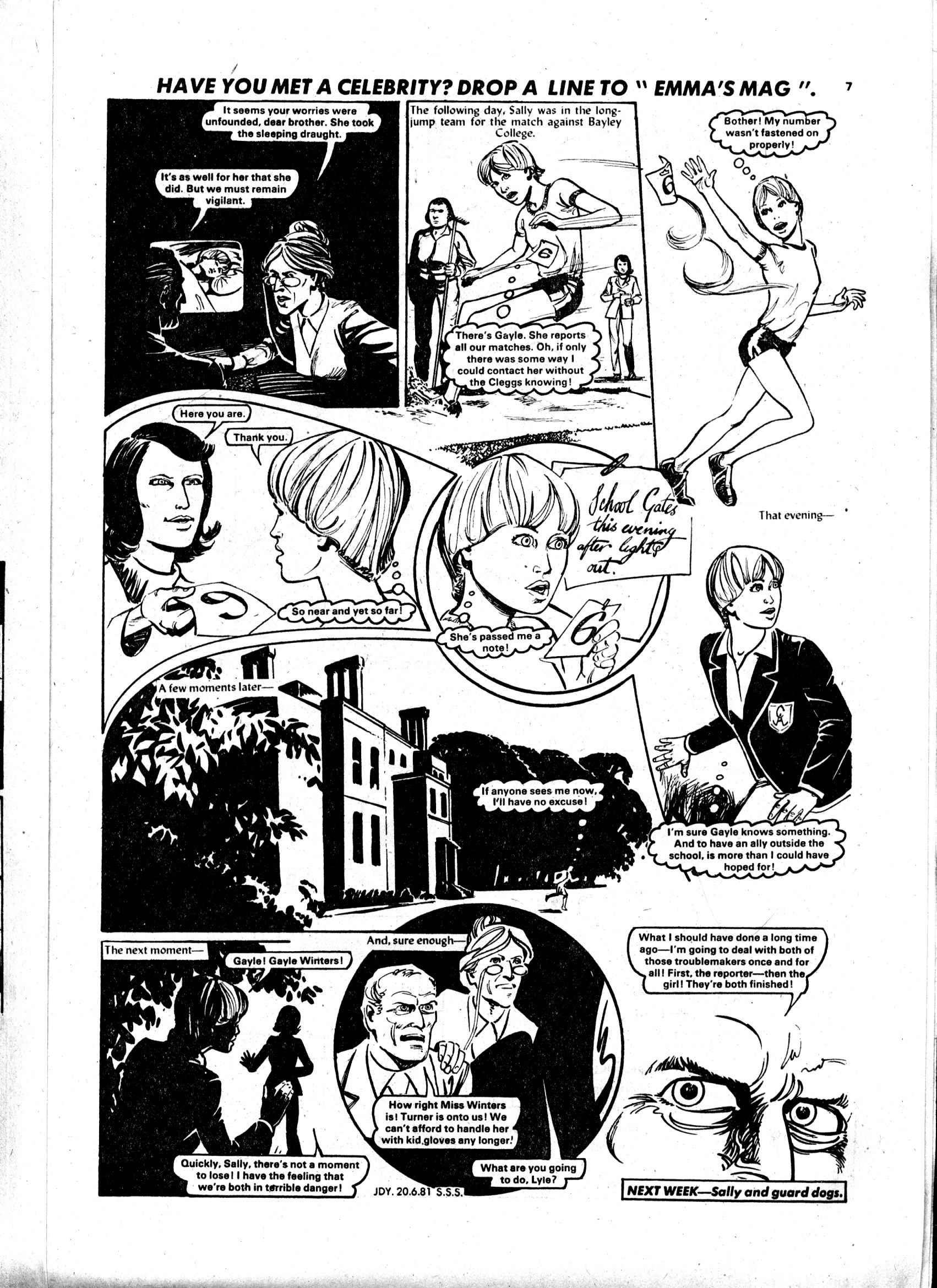 Read online Judy comic -  Issue #1119 - 7