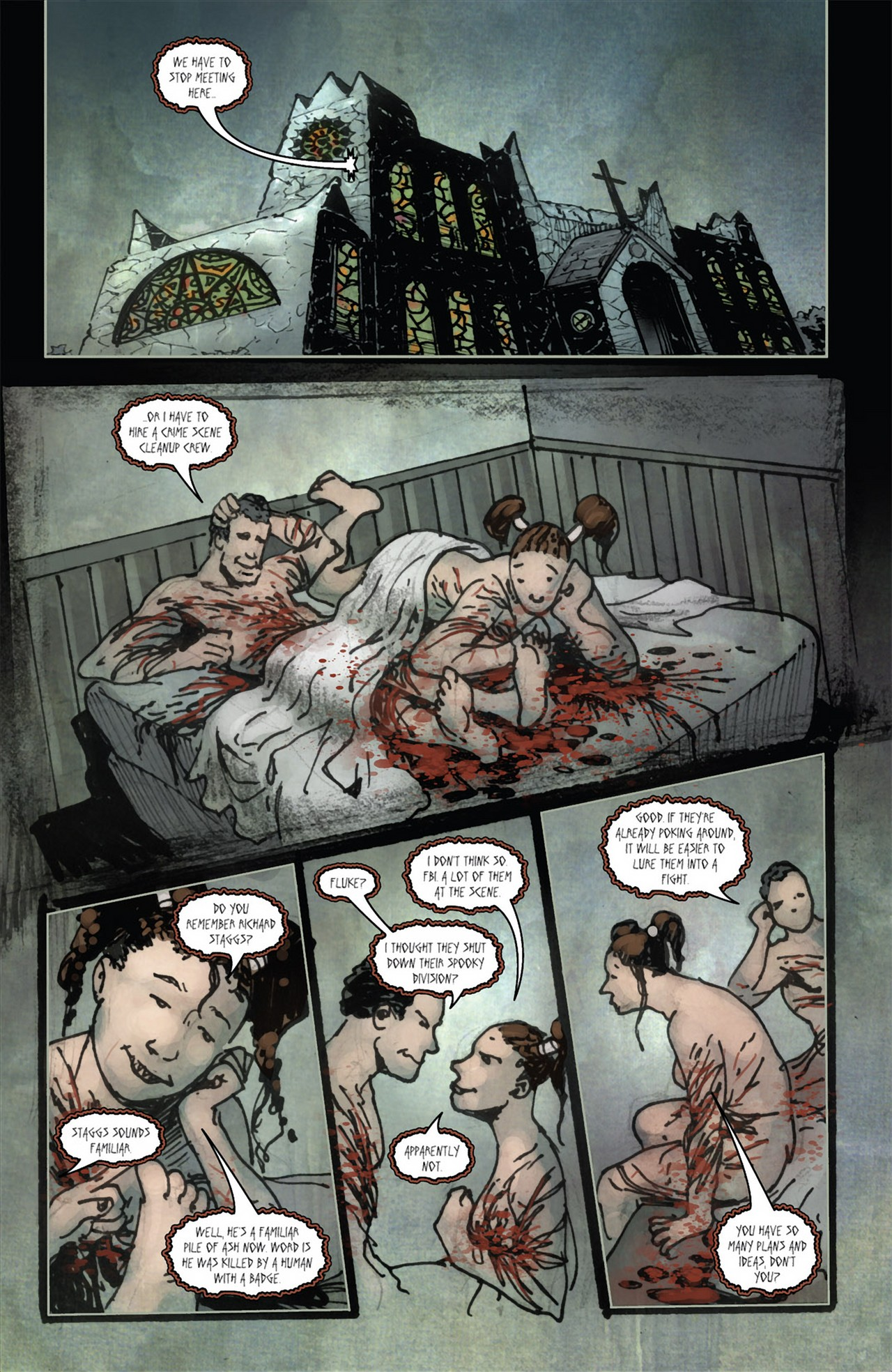 Read online 30 Days of Night (2011) comic -  Issue #3 - 10