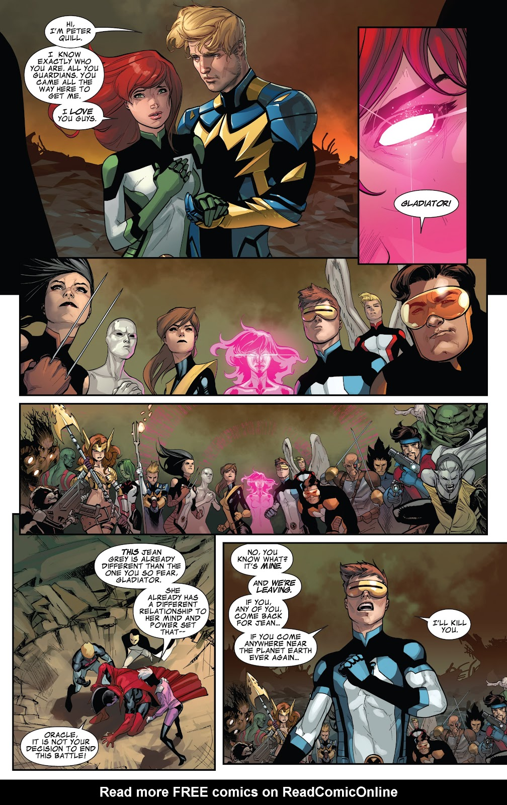 Guardians of the Galaxy/All-New X-Men: The Trial of Jean Grey issue TPB - Page 104