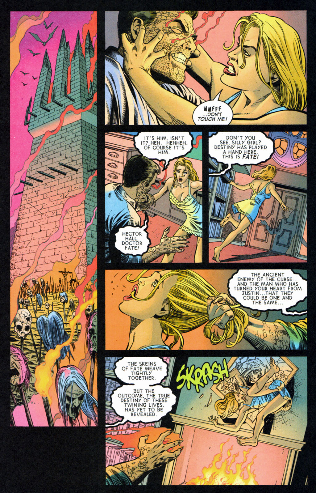 Read online Doctor Fate (2003) comic -  Issue #4 - 16
