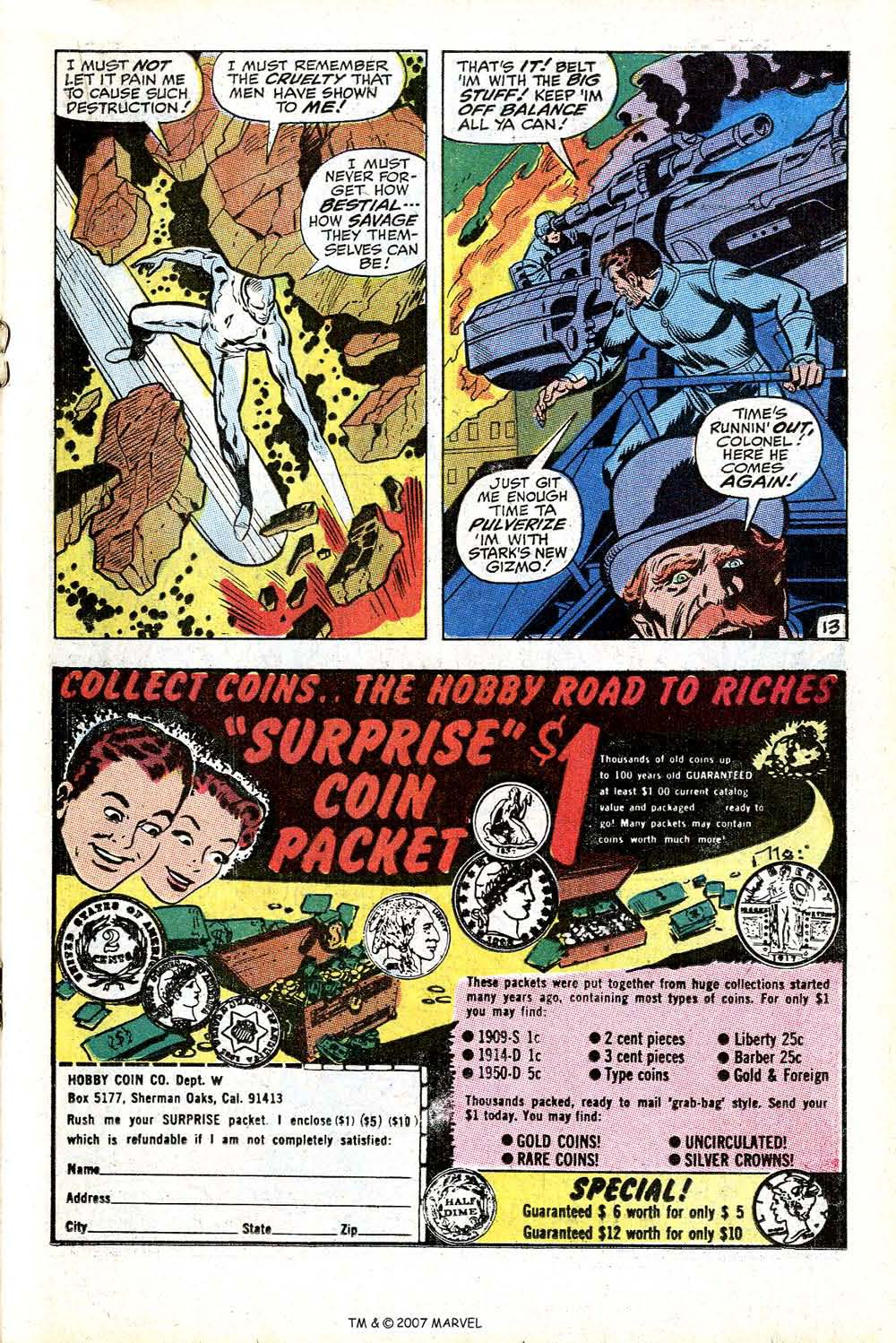 Read online Silver Surfer (1968) comic -  Issue #17 - 19