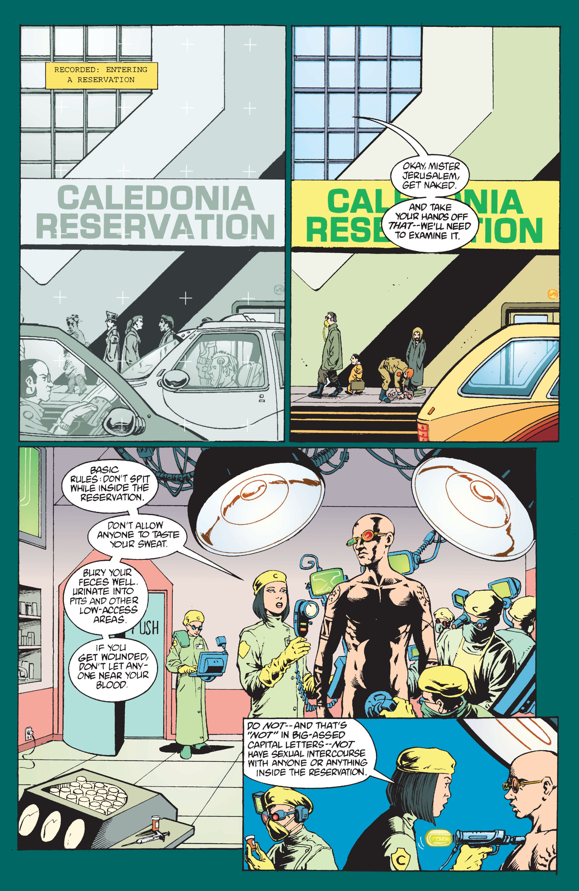 Read online Transmetropolitan comic -  Issue #9 - 9