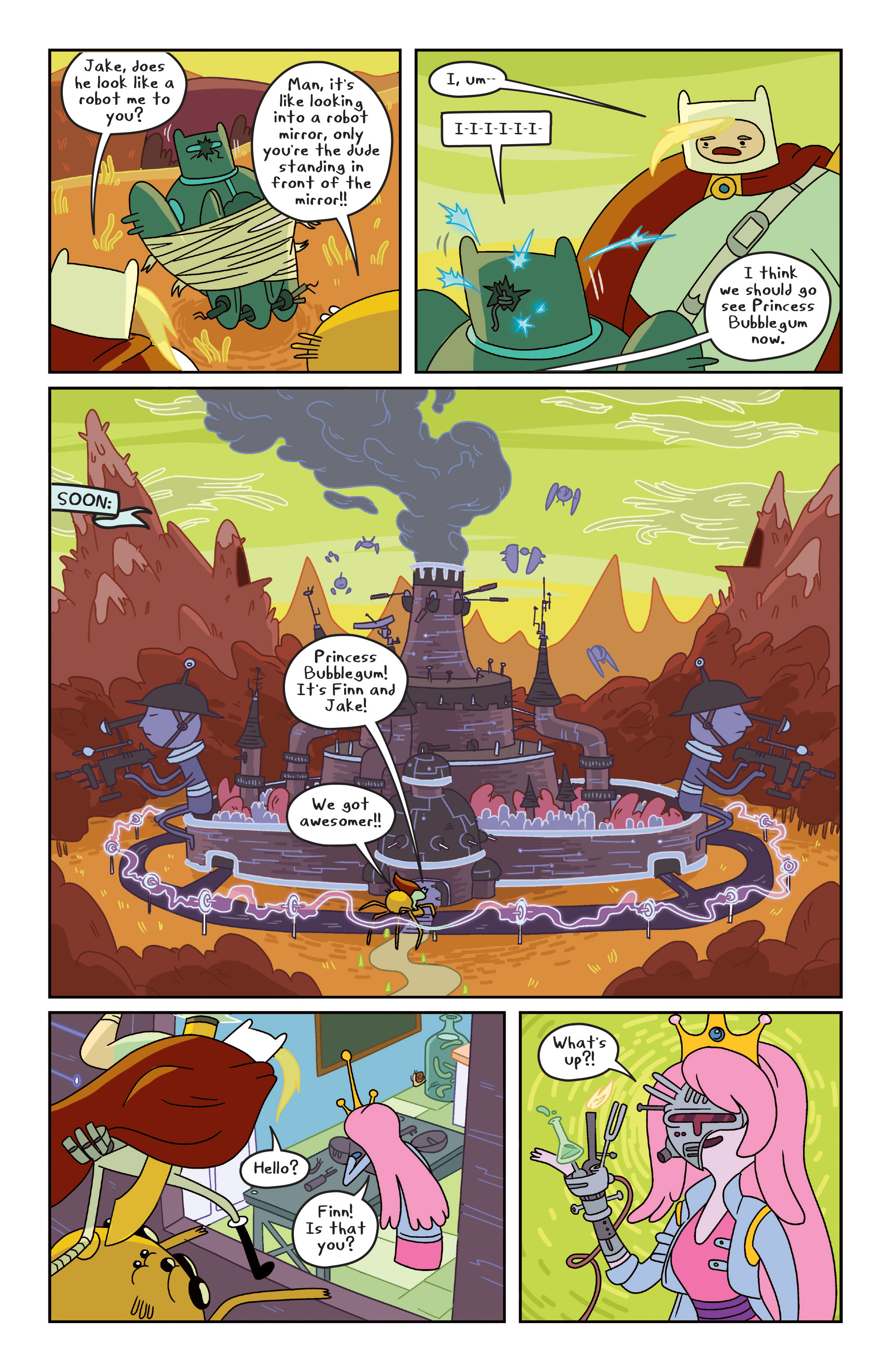 Read online Adventure Time comic -  Issue #7 - 17