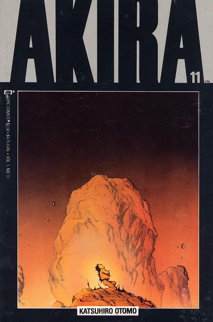 Read online Akira comic -  Issue #11 - 1