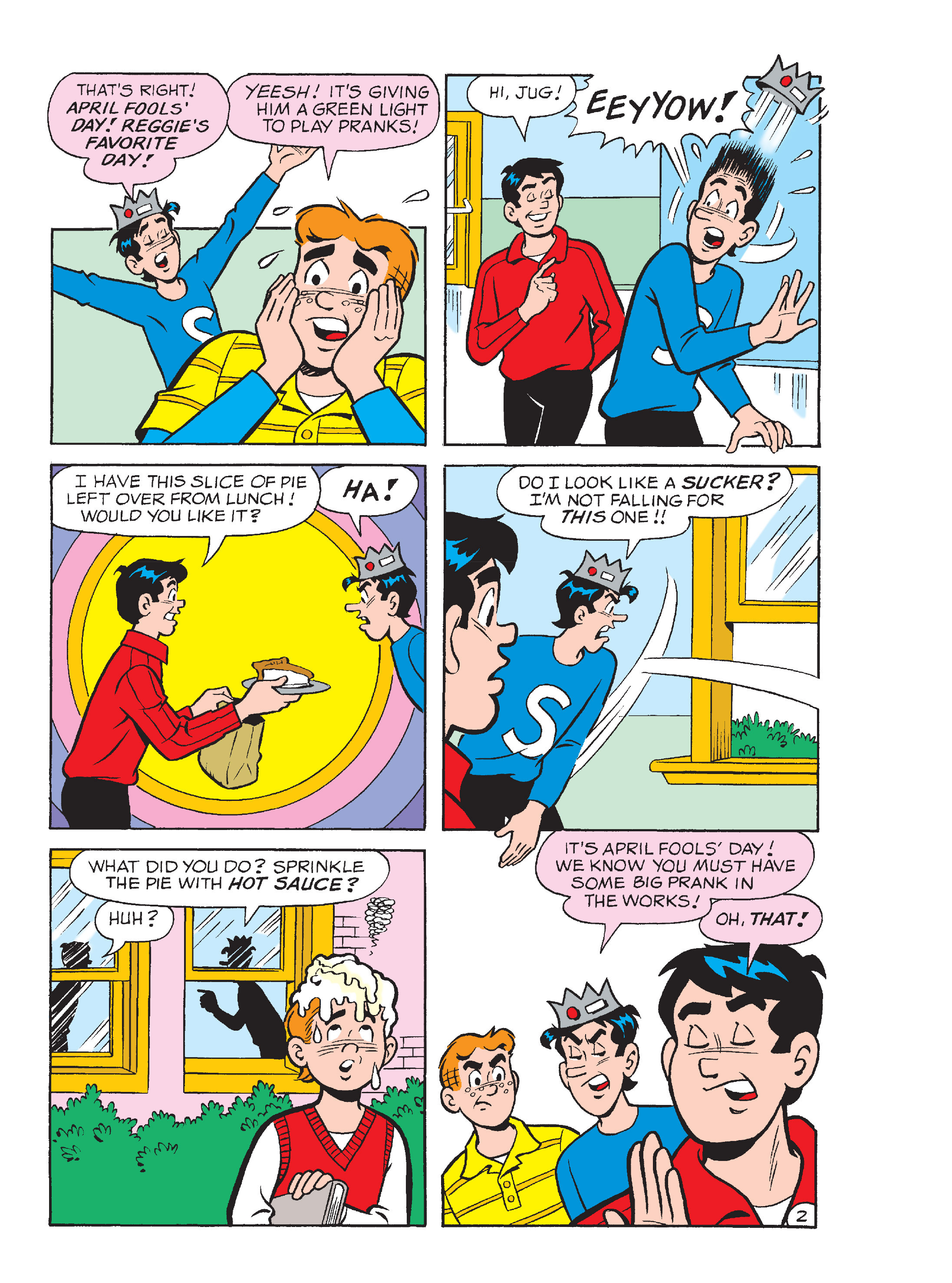 Read online Archie's Funhouse Double Digest comic -  Issue #13 - 115