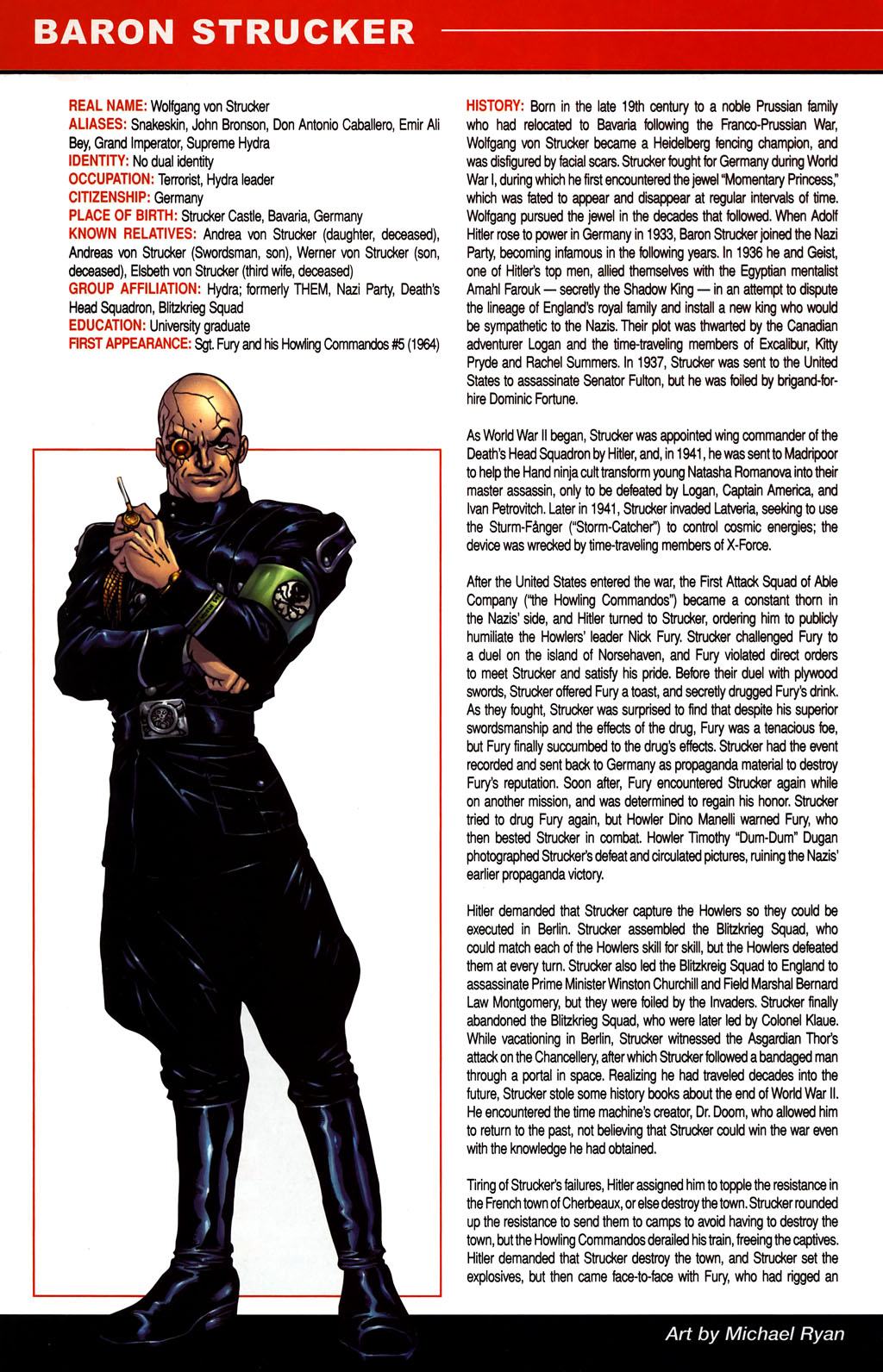 Read online All-New Official Handbook of the Marvel Universe A to Z comic -  Issue #1 - 60