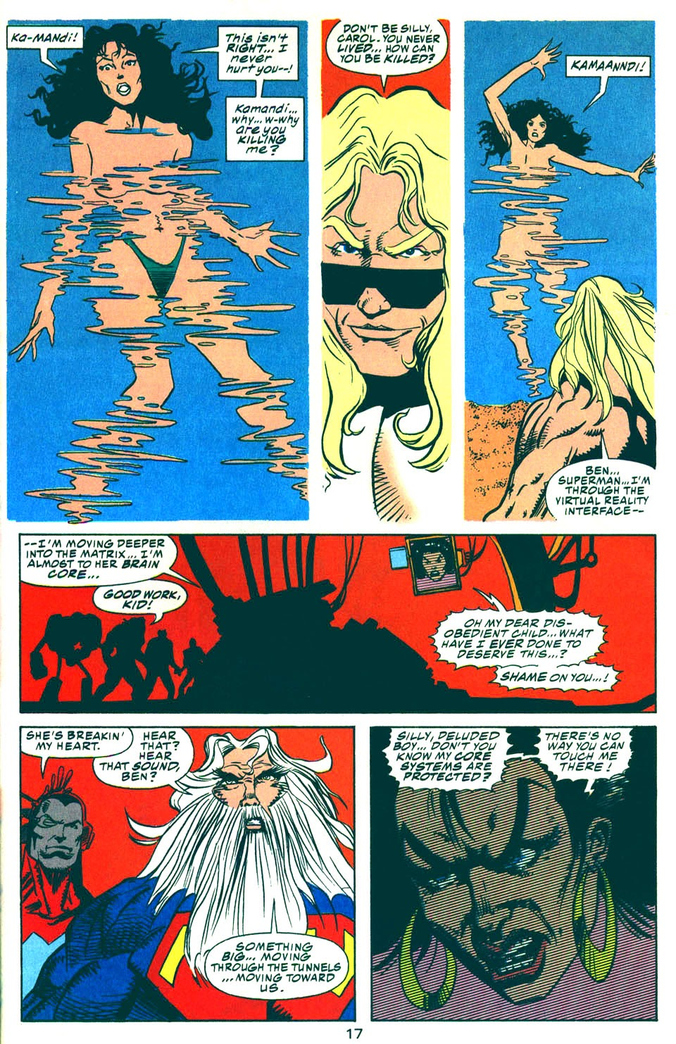 Read online Kamandi: At Earth's End comic -  Issue #6 - 18