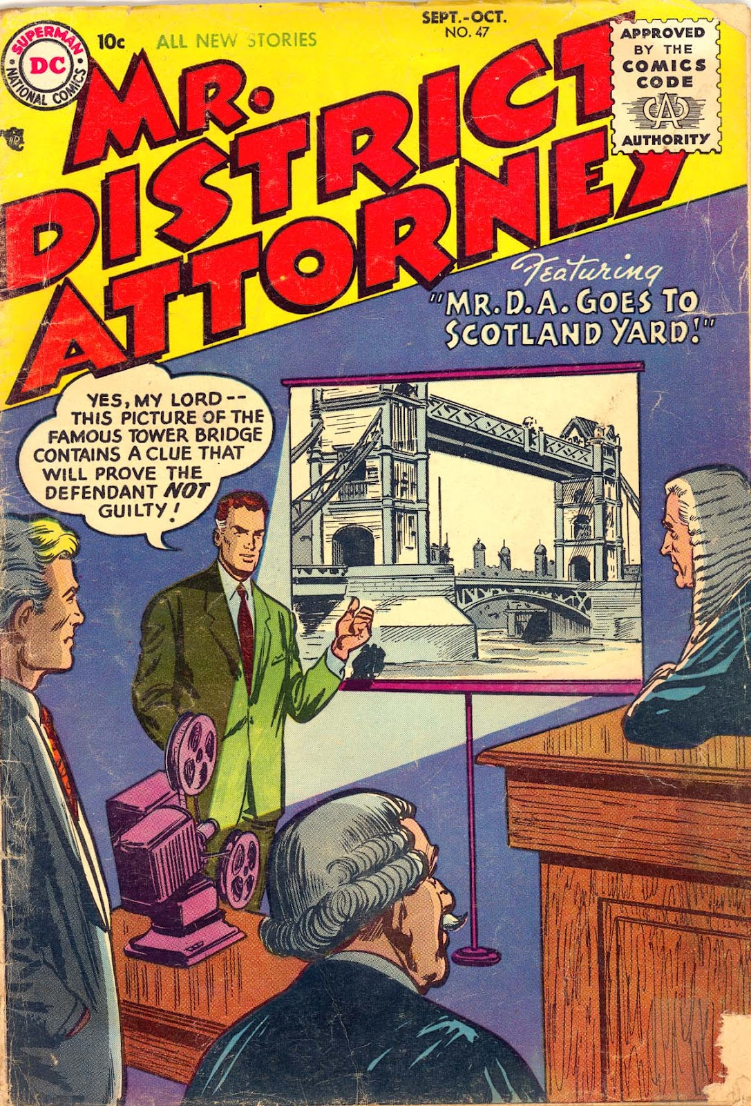 Mr. District Attorney issue 47 - Page 1
