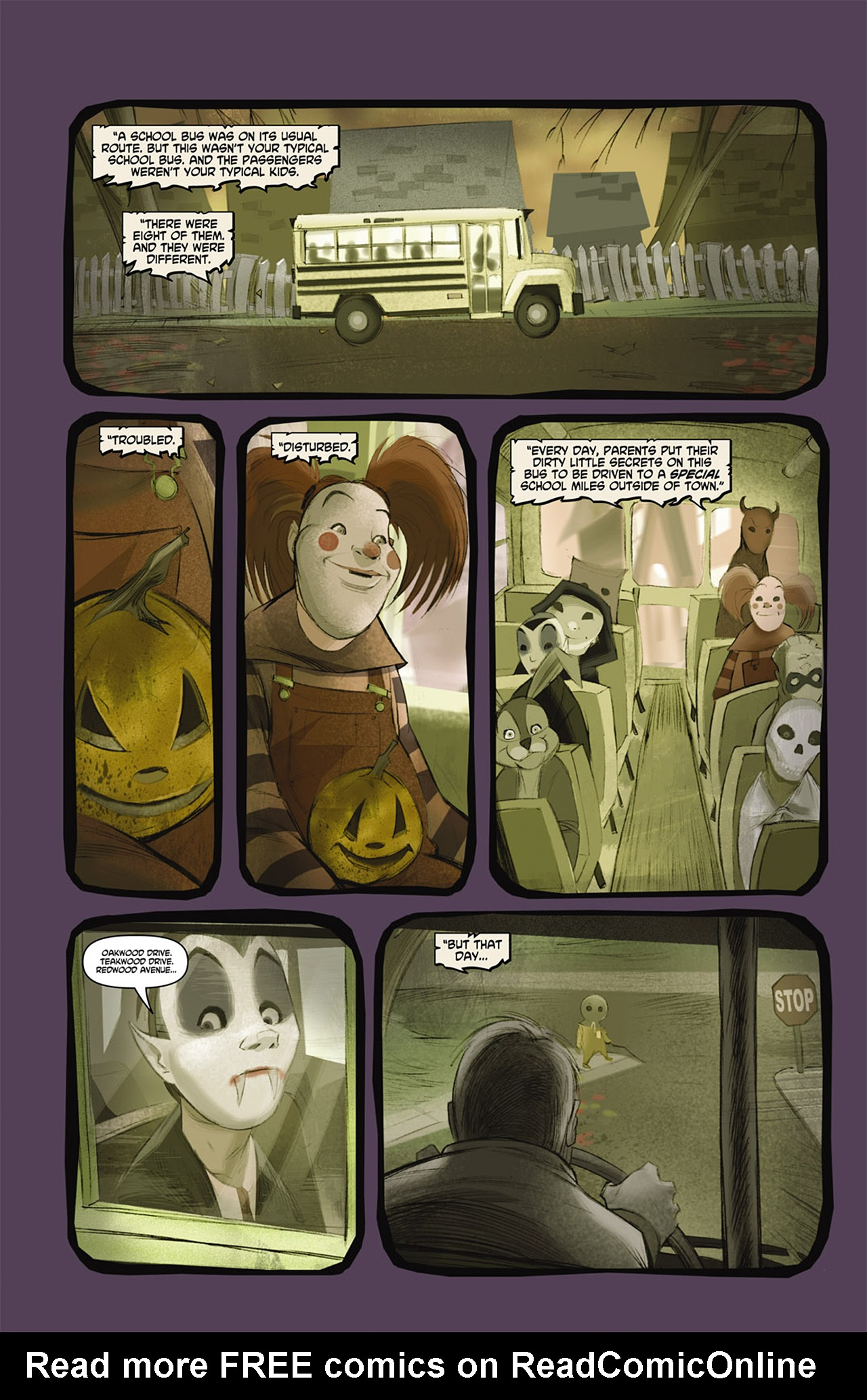 Read online Trick 'r Treat comic -  Issue #2 - 11