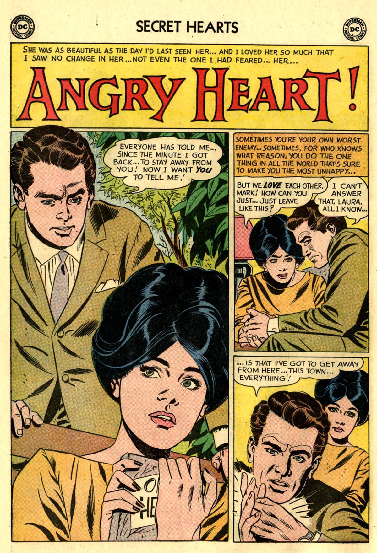 Read online Secret Hearts comic -  Issue #83 - 10