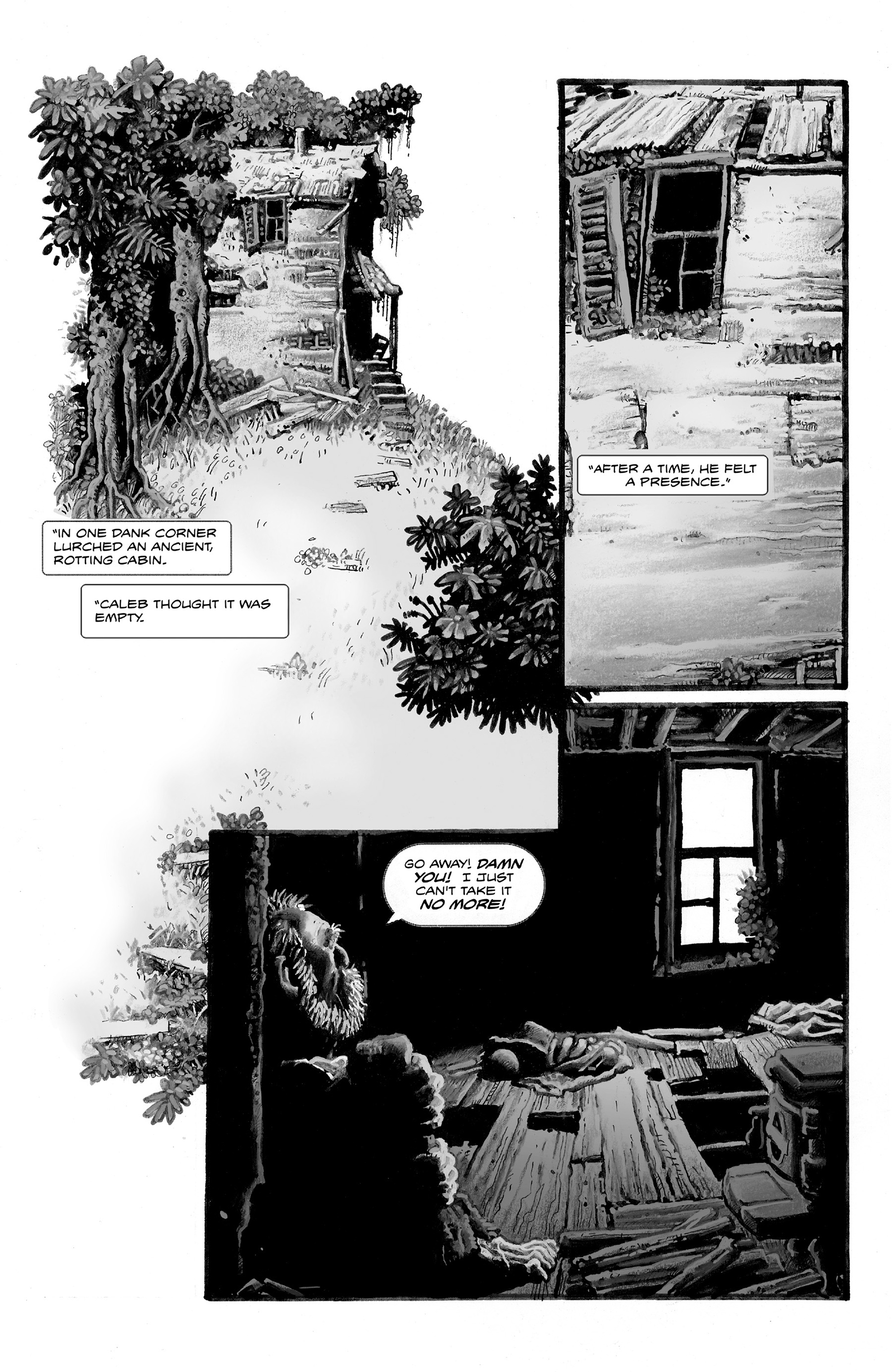 Read online Shadows on the Grave comic -  Issue #2 - 13