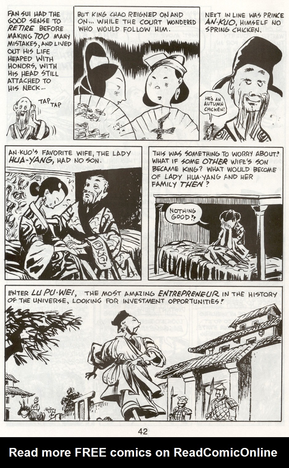 Read online The Cartoon History of the Universe comic -  Issue #9 - 45