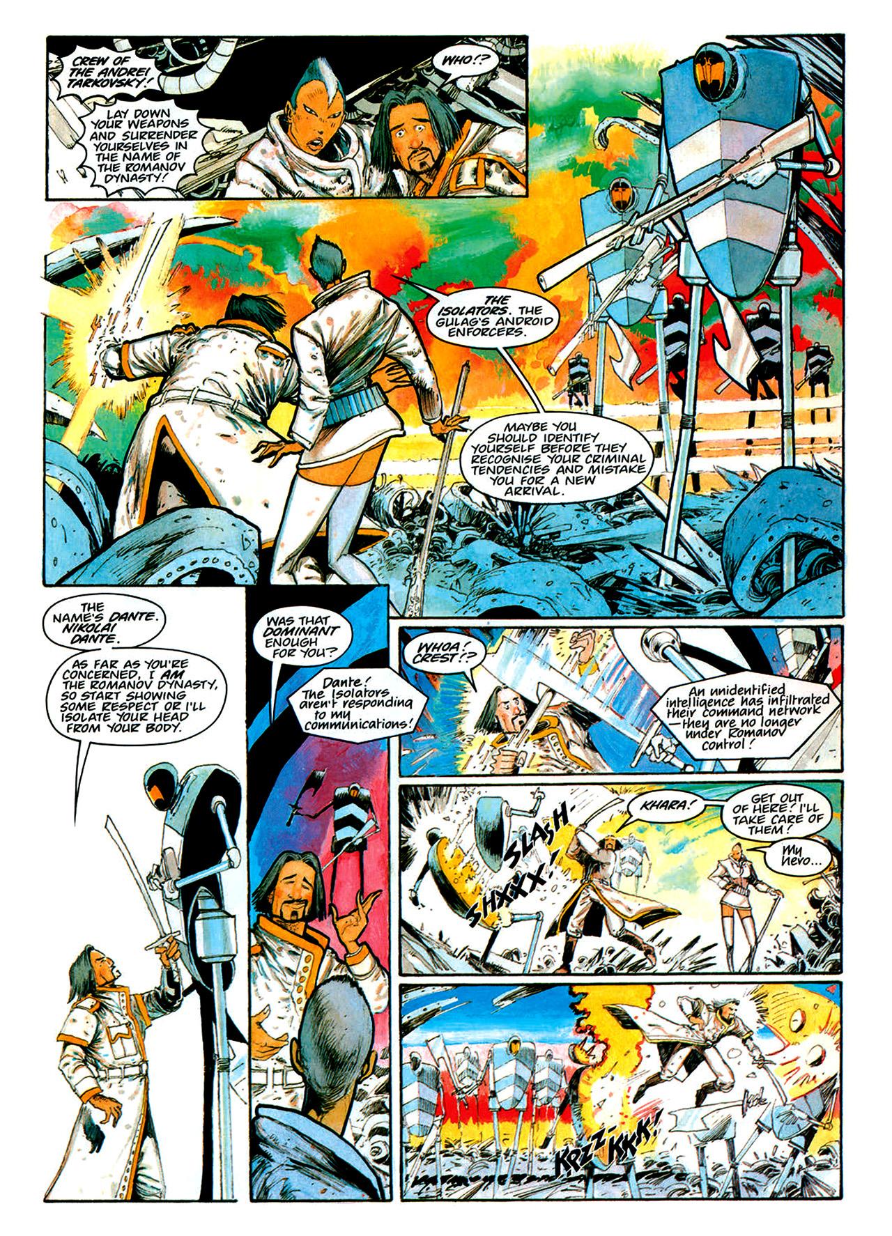 Read online Nikolai Dante comic -  Issue # TPB 1 - 162