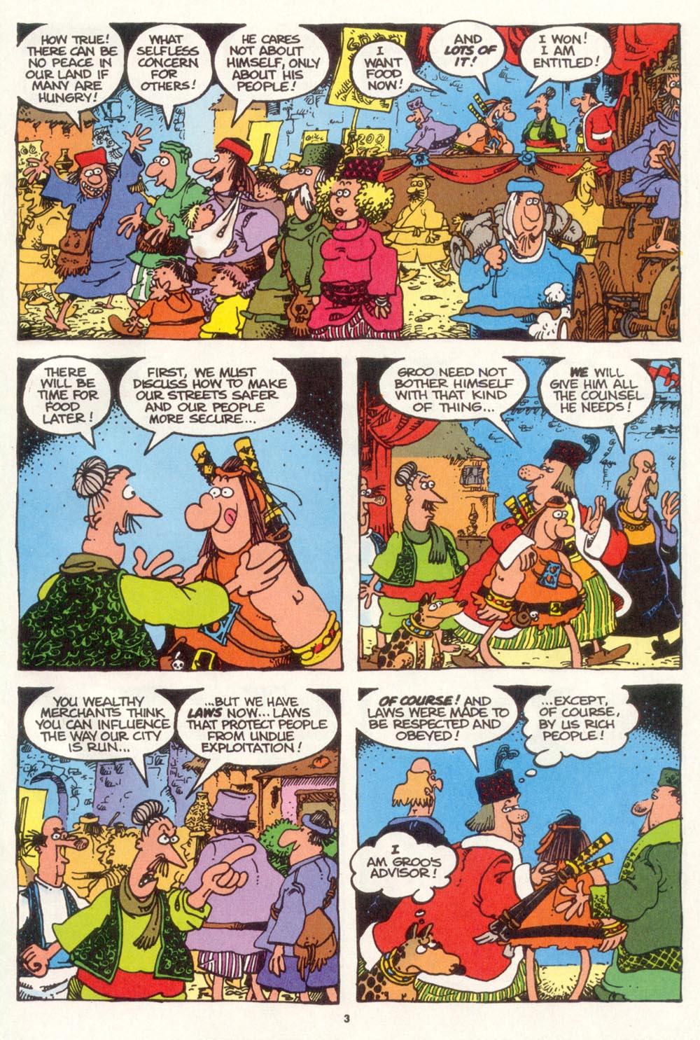 Read online Sergio Aragonés Groo the Wanderer comic -  Issue #109 - 5