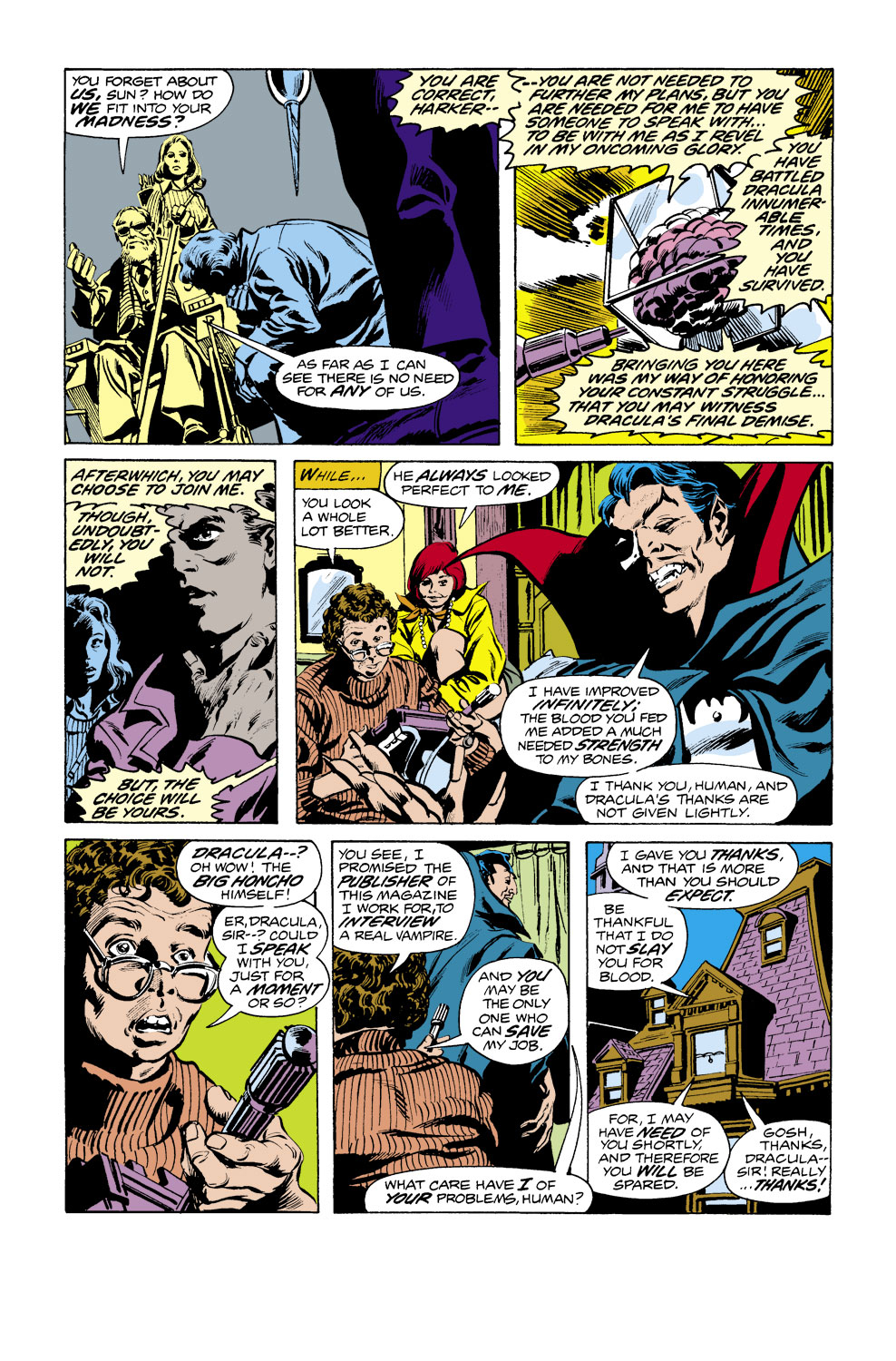 Tomb of Dracula (1972) issue 38 - Page 16