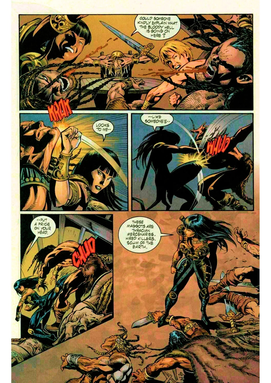 Xena: Warrior Princess (1999) Issue #10 #10 - English 14