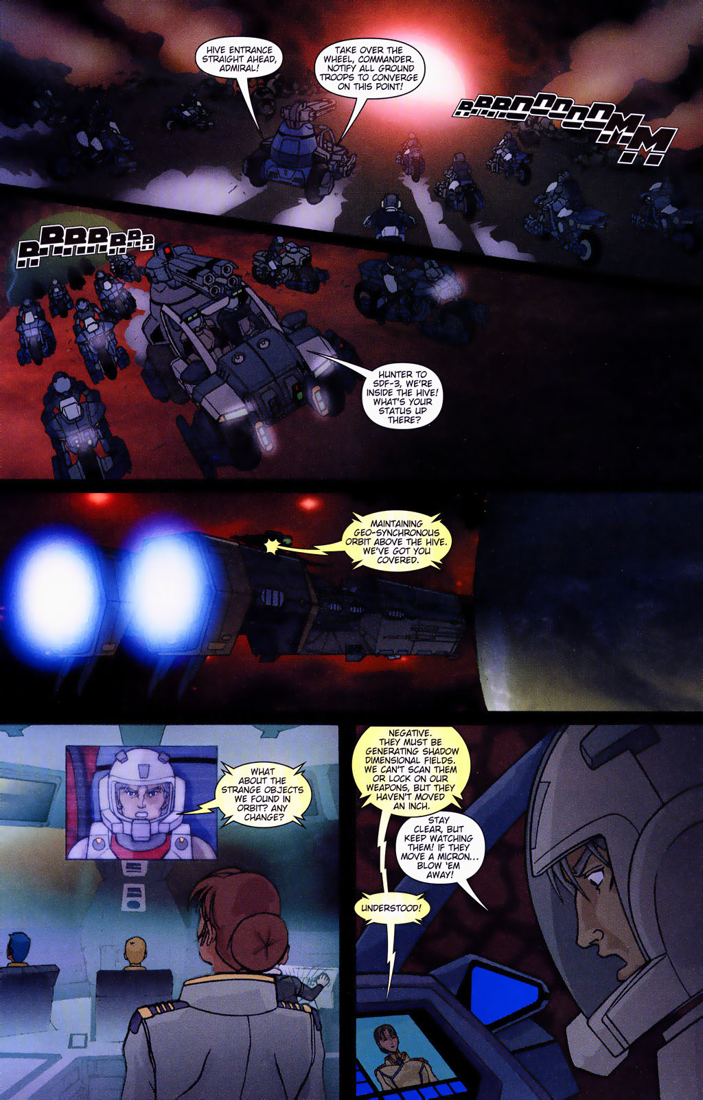 Read online Robotech: Prelude to the Shadow Chronicles comic -  Issue #4 - 12