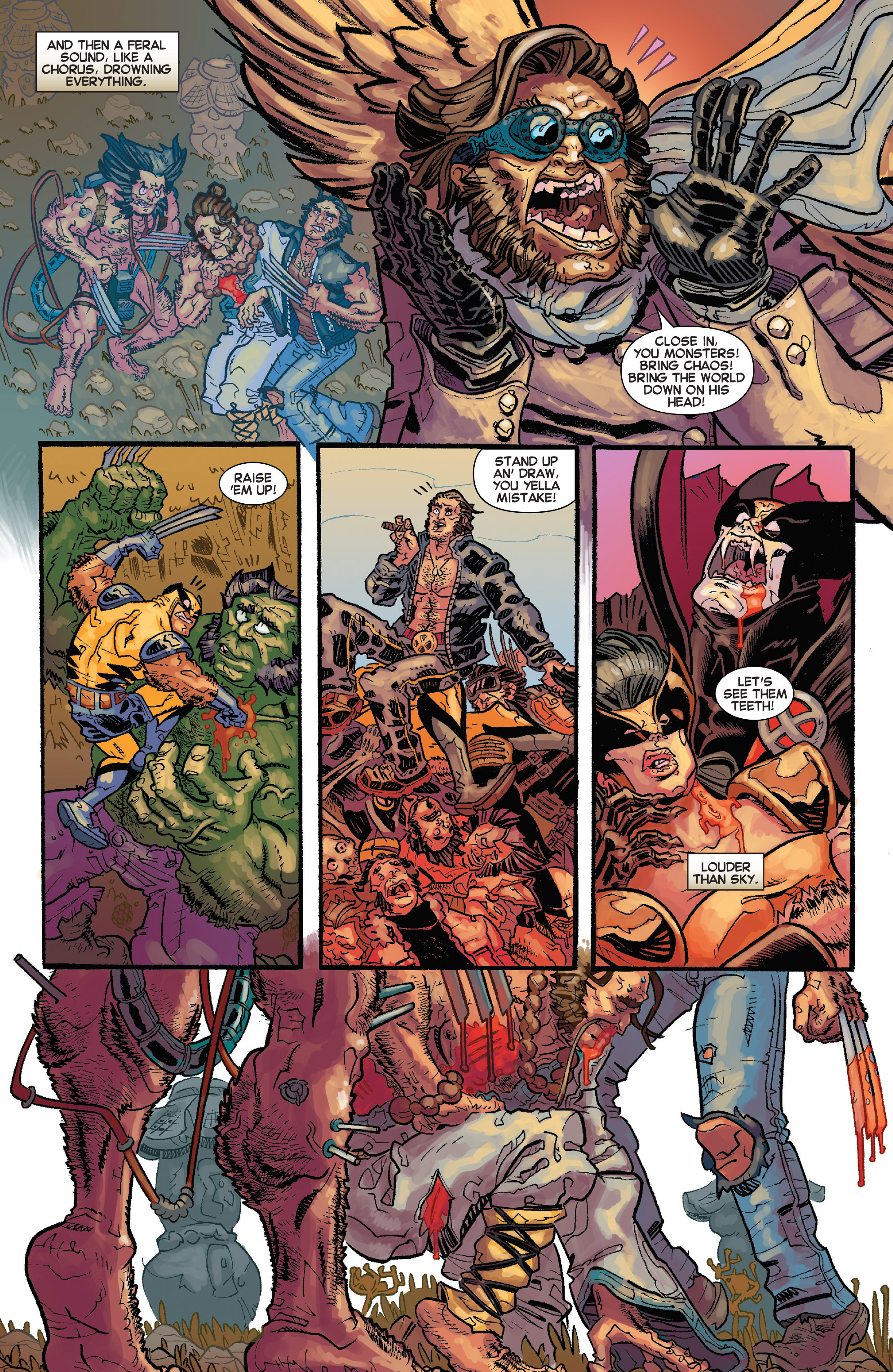 Read online Secret Wars Journal/Battleworld comic -  Issue # TPB - 175