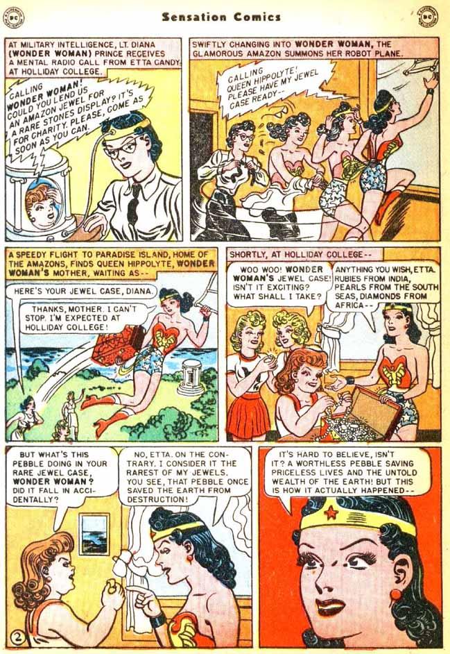 Read online Sensation (Mystery) Comics comic -  Issue #92 - 4