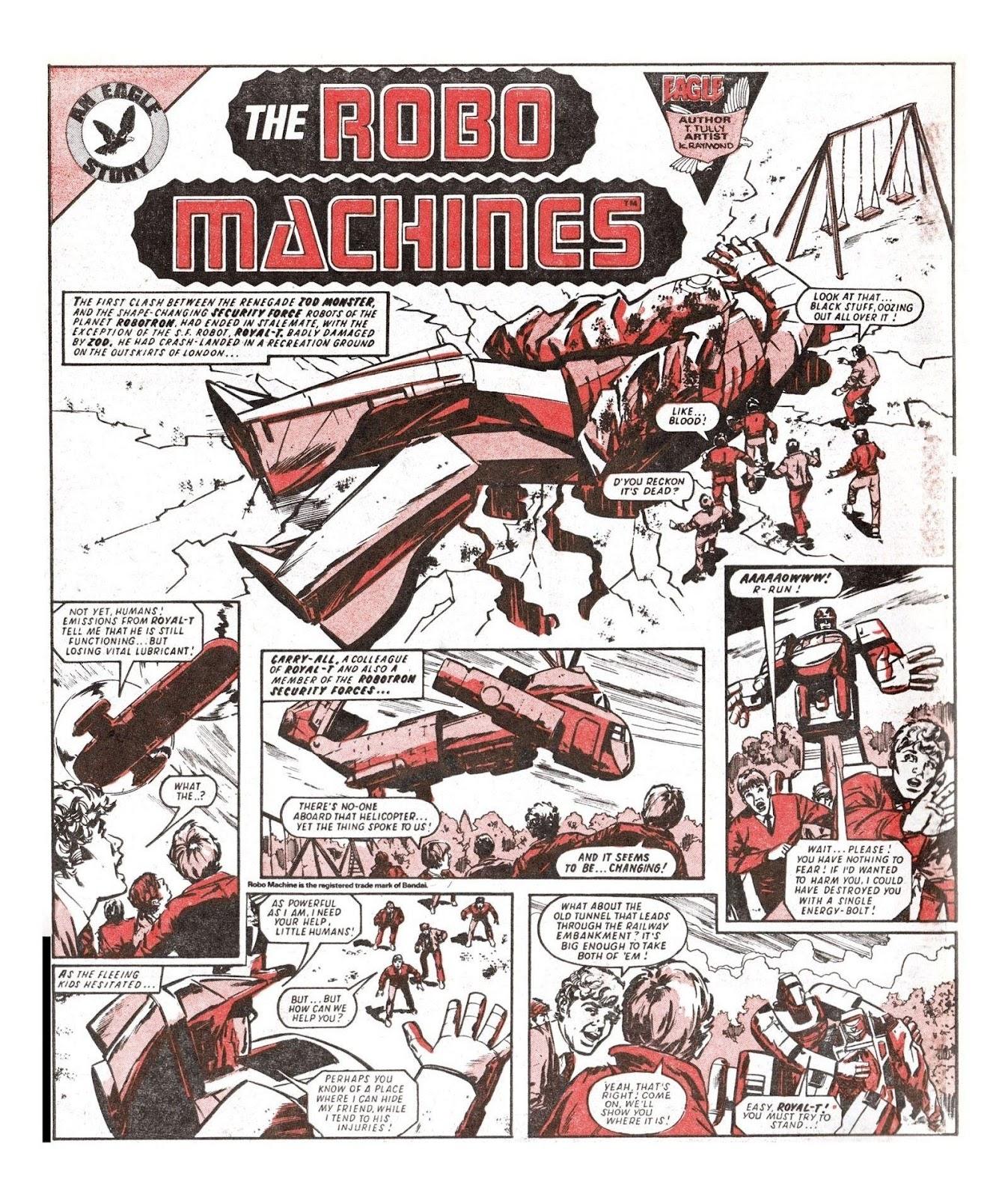 Read online Robo Machines comic -  Issue # TPB - 79