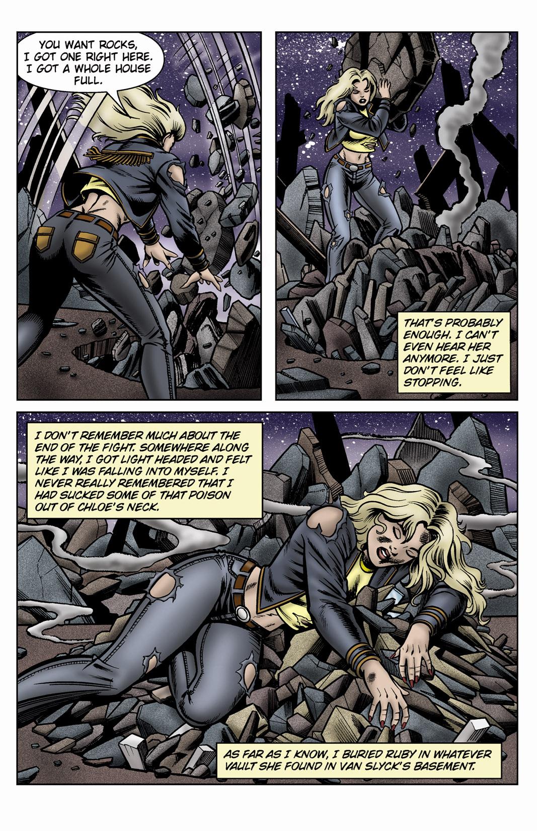 Read online SideChicks comic -  Issue #3 - 37