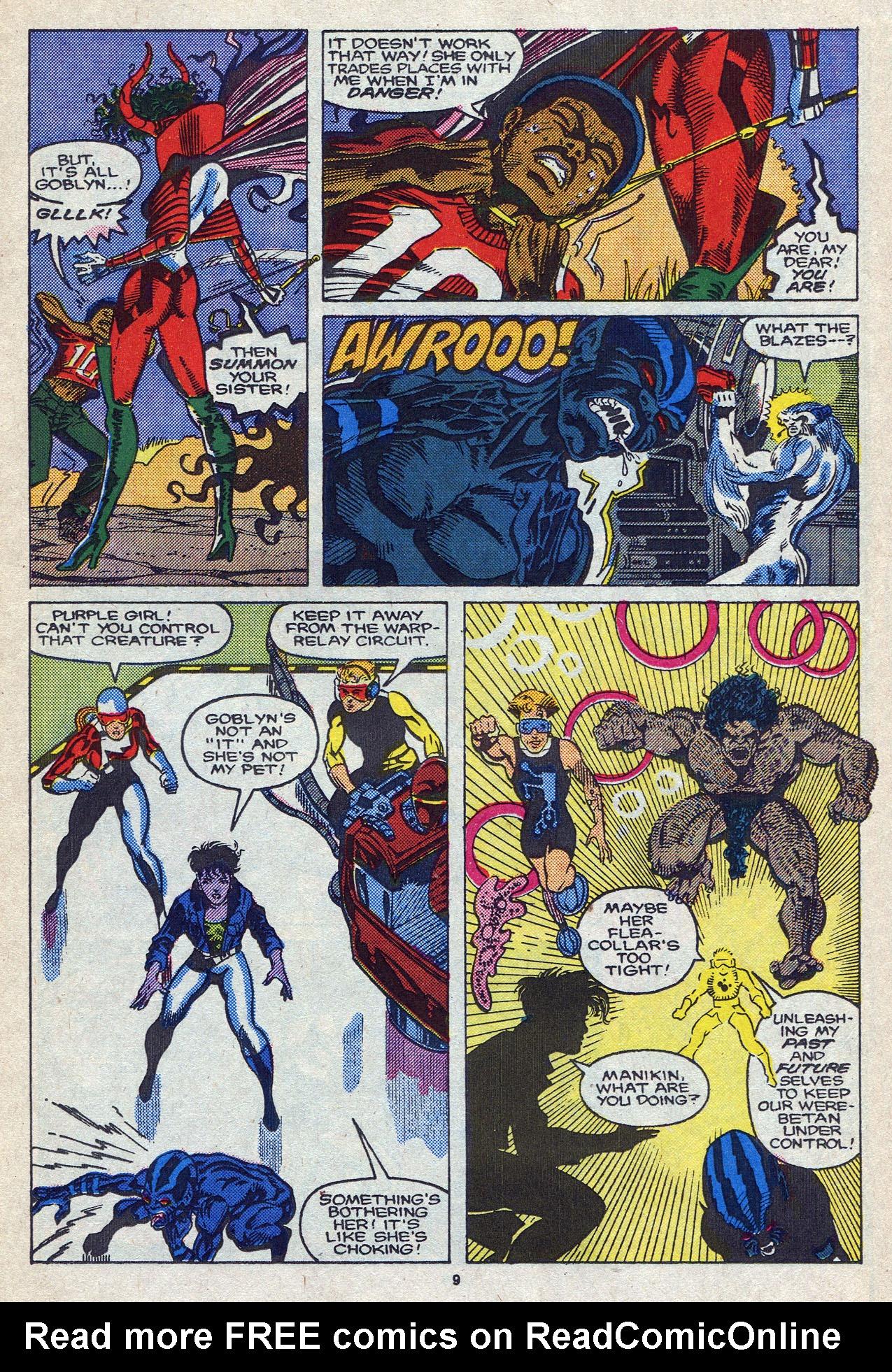 Read online Alpha Flight (1983) comic -  Issue #58 - 11